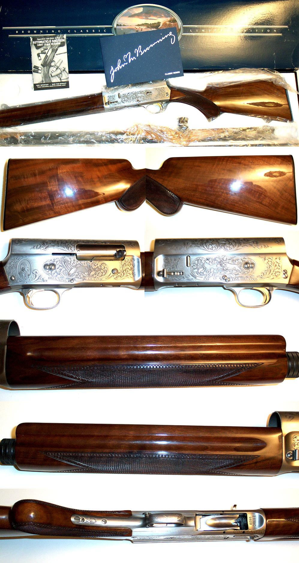 Browning A5 Classic NIB  Guns > Shotguns > Browning Shotguns > Autoloaders > Hunting