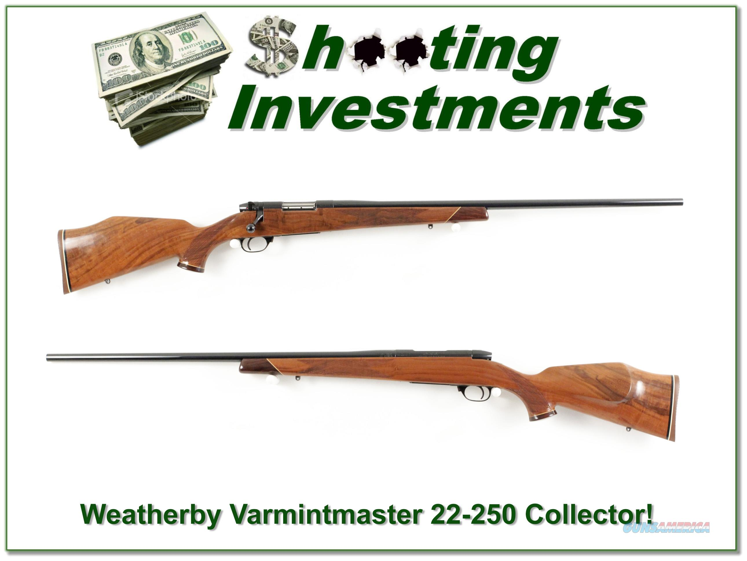 Weatherby Mark V Varmintmaster 22-250 26in Collector!  Guns > Rifles > Weatherby Rifles > Sporting