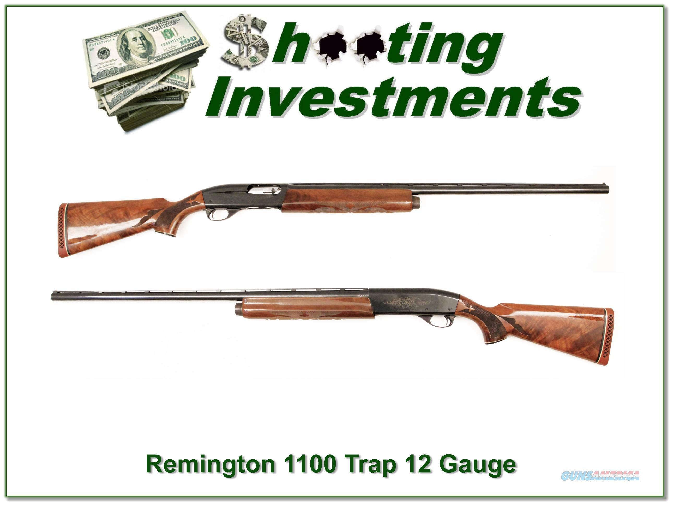 Remington 1100 Trap 30in Full XX Wood!  Guns > Shotguns > Remington Shotguns  > Autoloaders > Hunting