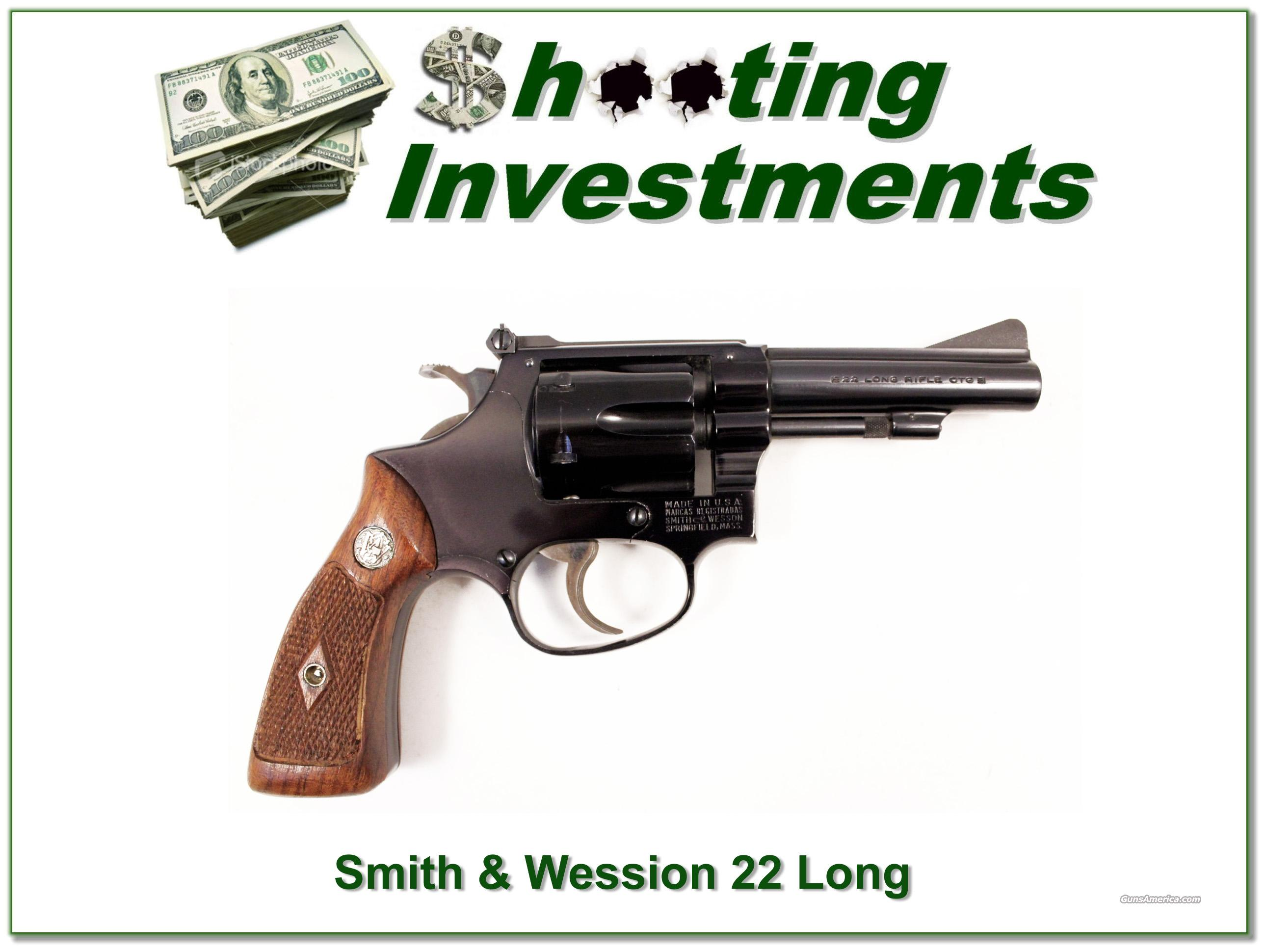 Smith & Wesson Model 43 22 3in barrel Exc Cond  Guns > Pistols > Smith & Wesson Revolvers > Full Frame Revolver