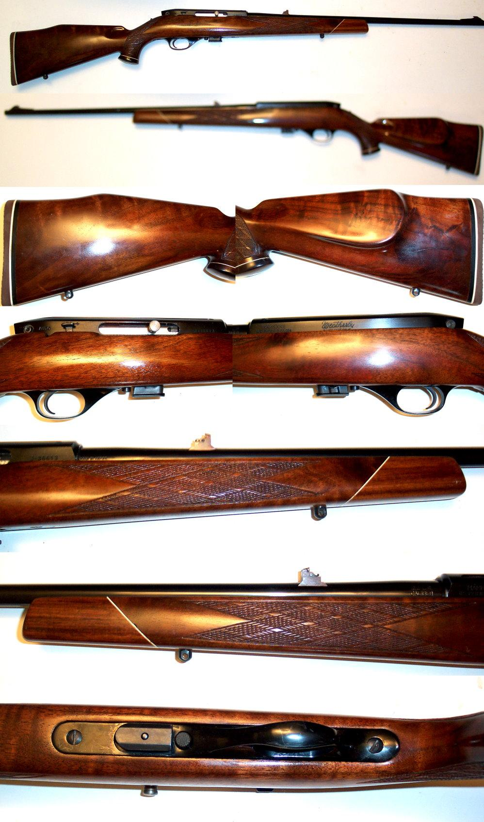 Weatherby XXII 22 auto EXC Cond  Guns > Rifles > Weatherby Rifles > Sporting