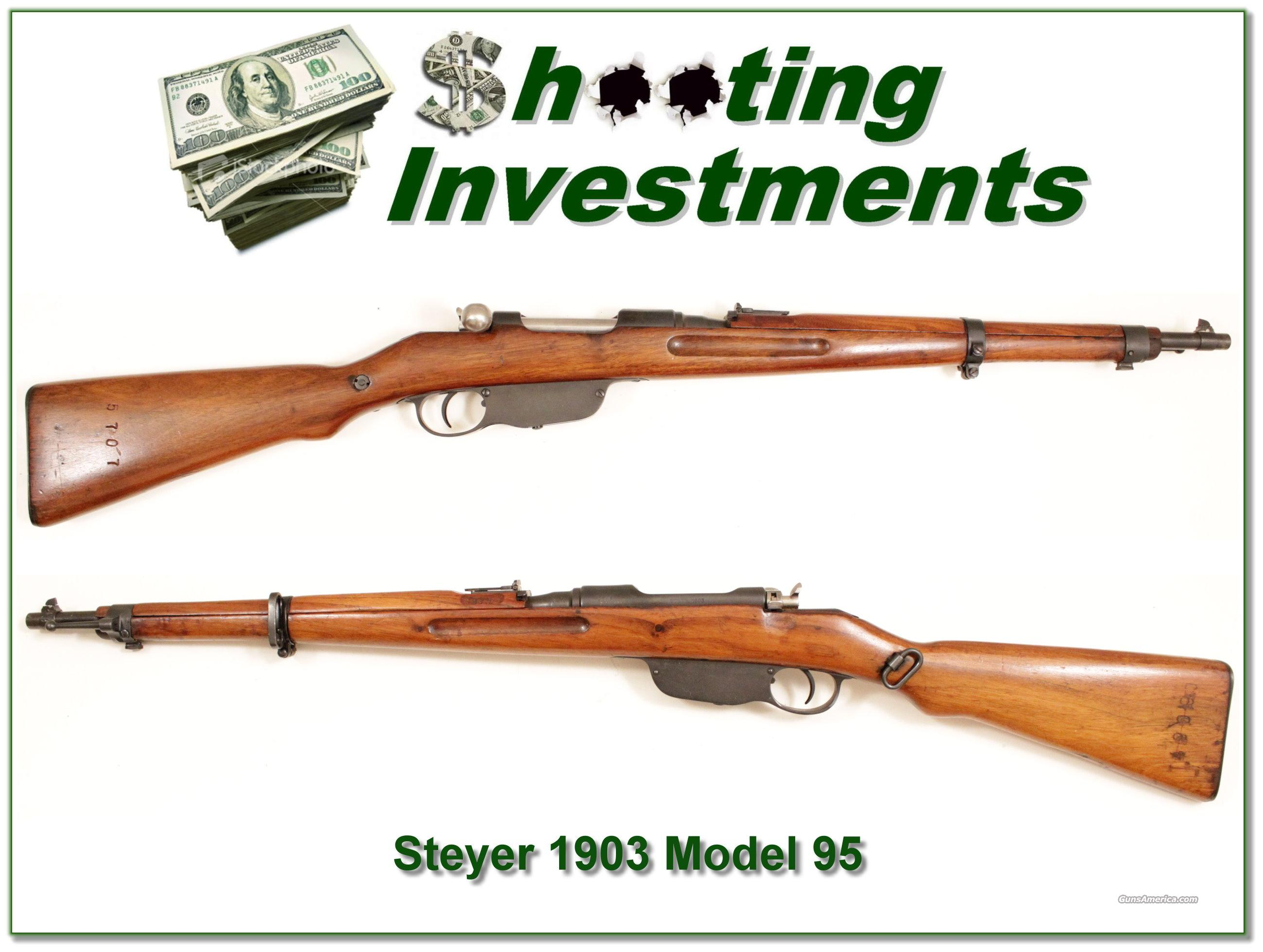 Steyr 1903 Model 95 8x50mm  Guns > Rifles > Military Misc. Rifles Non-US > Other