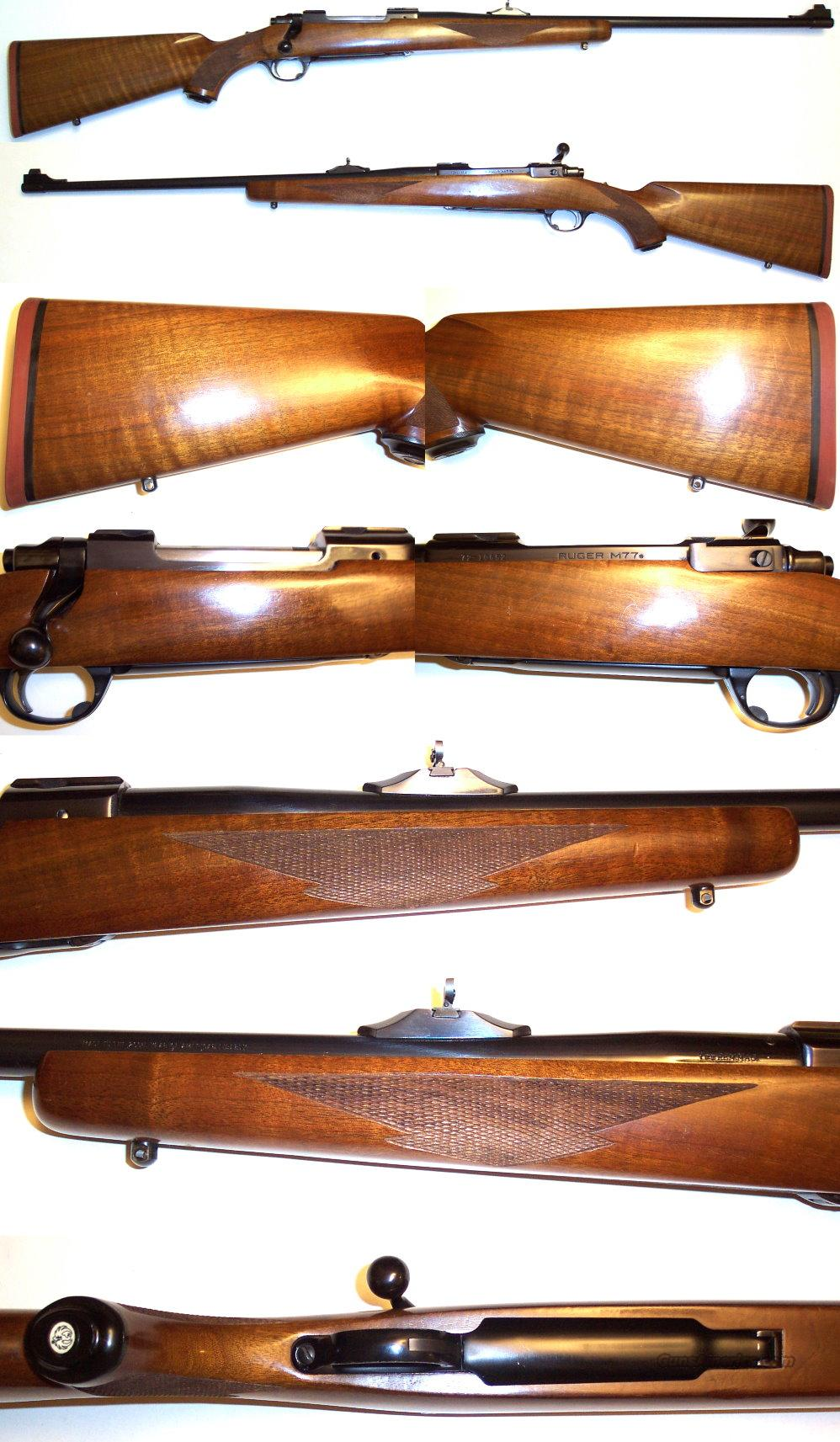 Ruger Model 77 7mm early model  Guns > Rifles > Ruger Rifles > Model 77