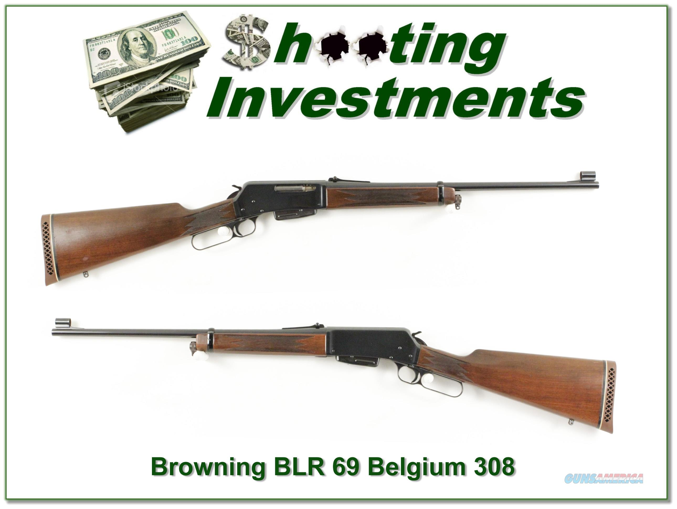 Browning BLR first year Belgium 69 308 Exc Cond!  Guns > Rifles > Browning Rifles > Lever Action