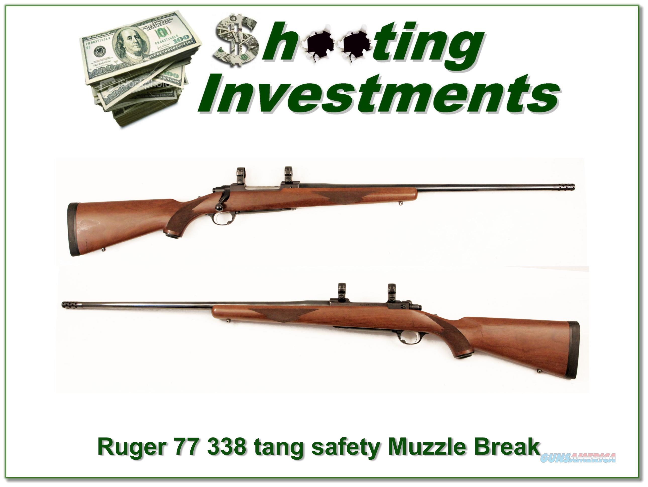 Ruger Model 77 338 Win Mag older tang safety!  Guns > Rifles > Ruger Rifles > Model 77