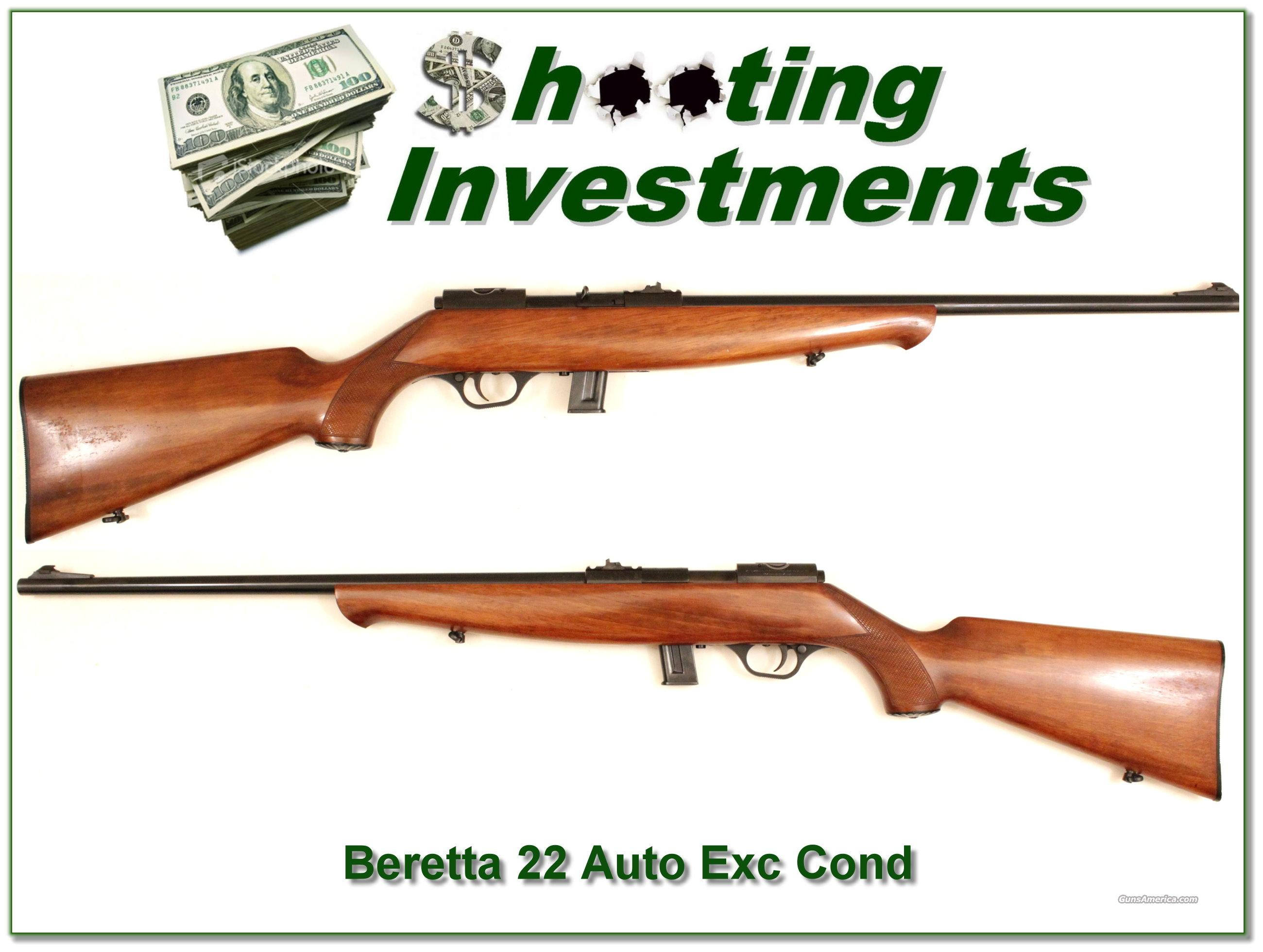 Beretta 22 Auto, semi auto rifle  Guns > Rifles > Beretta Rifles > Cowboy