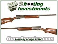 Browning A5 light 12 '67 Belgium vent rib  Browning Shotguns > Autoloaders > Hunting