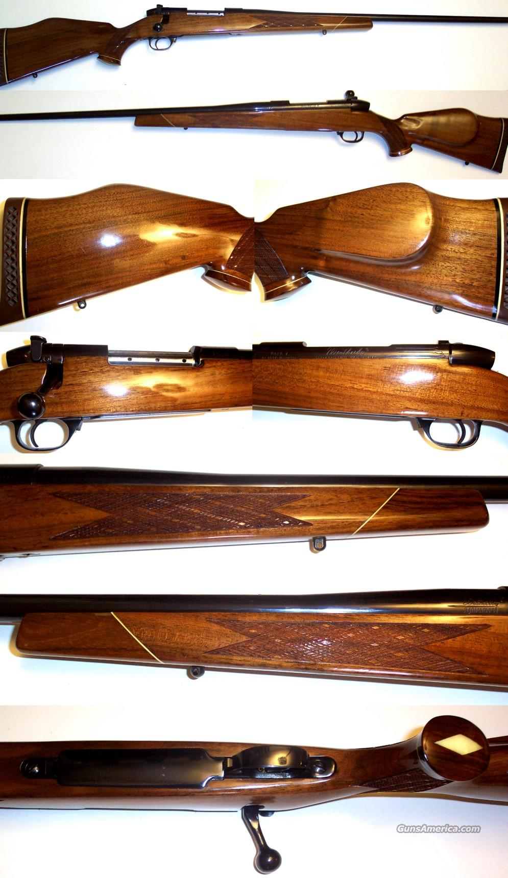 "Weatherby Mark V Deluxe 340 Wthy Magnum 26""  Guns > Rifles > Weatherby Rifles > Sporting"