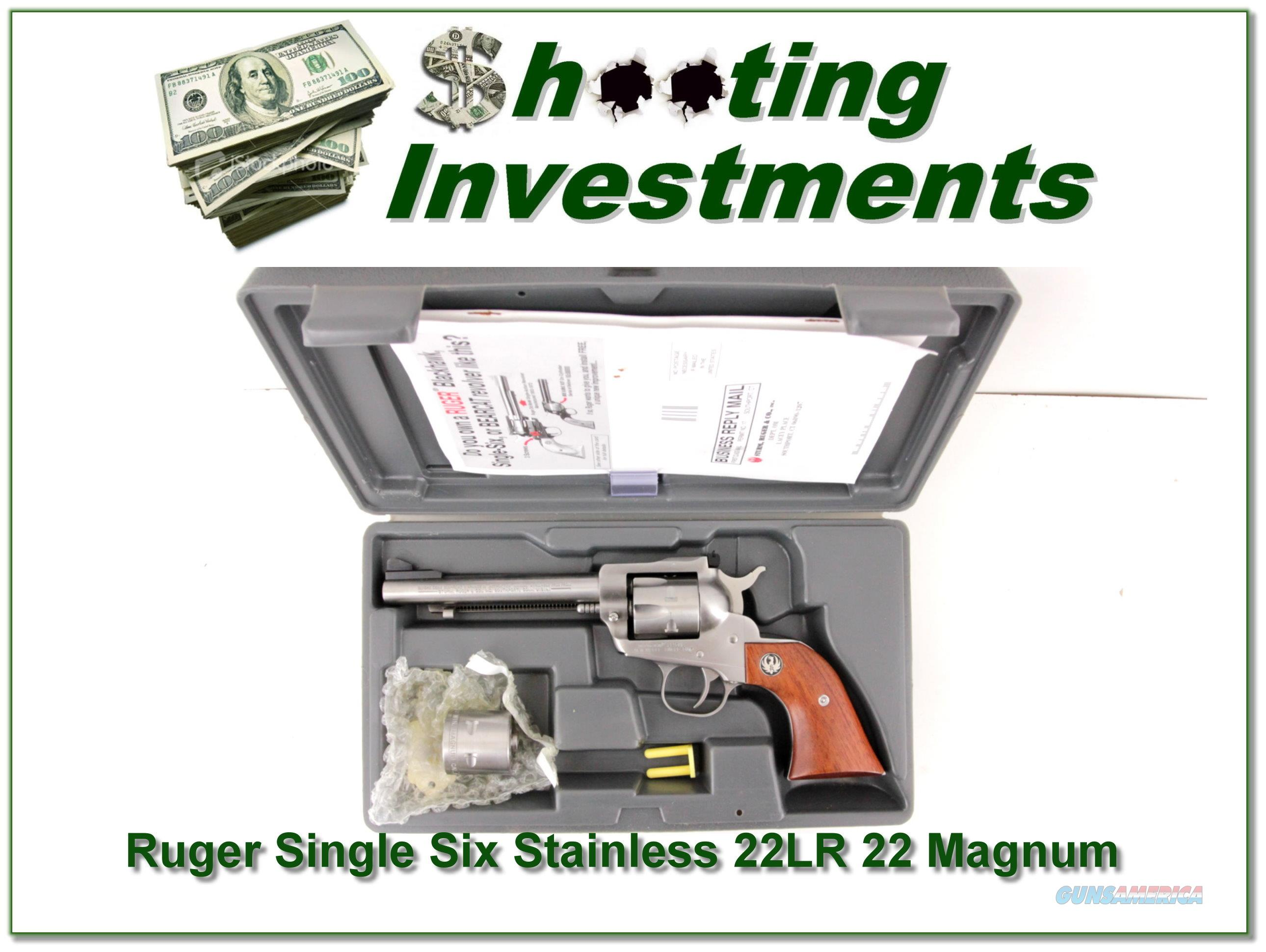 Magnum Insurance Near Me >> Ruger Single Six New Model Stainless 22 22Mag for sale