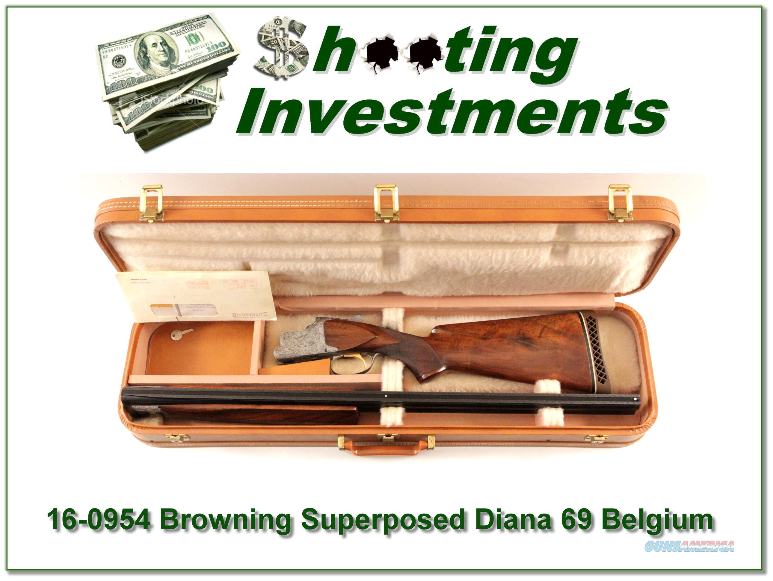 Browning Superposed Diana Grade Trap in case  Guns > Shotguns > Browning Shotguns > Over Unders > Other OU > Hunting