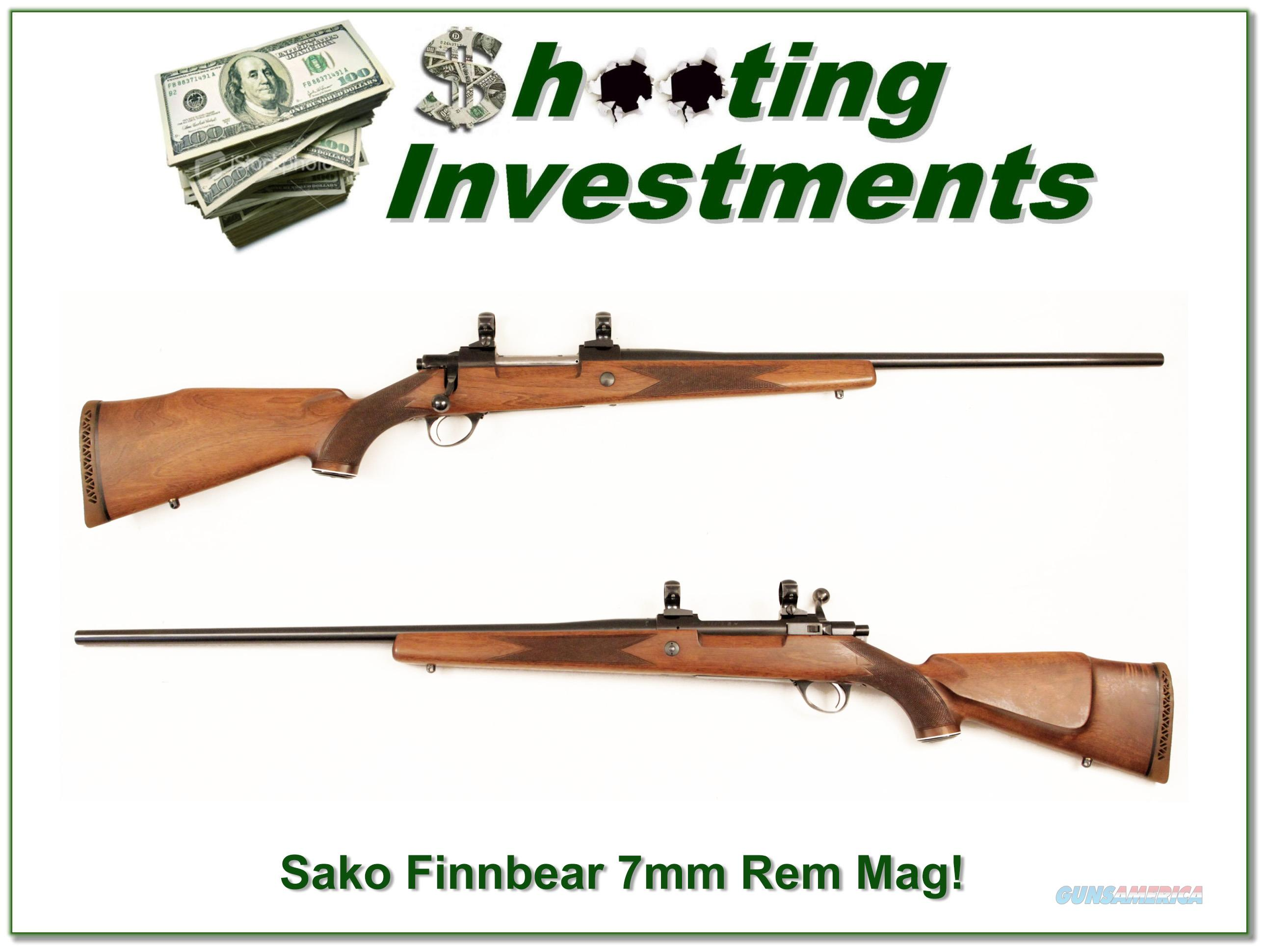 Sako L61R Finnbear 7mm Rem Mag nice!  Guns > Rifles > Sako Rifles > Other Bolt Action