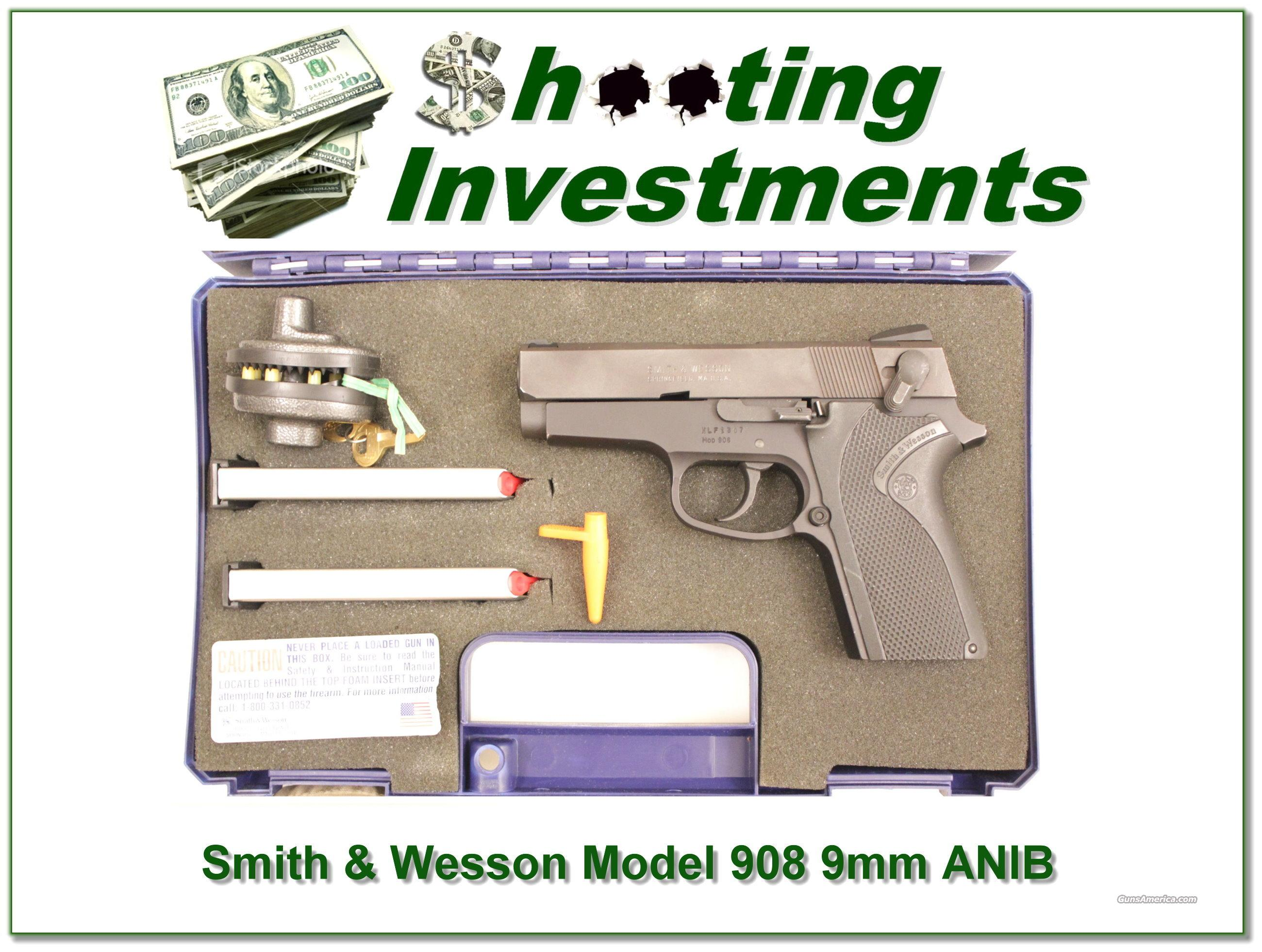 Smith & Wesson Model 908 9mm  Guns > Pistols > Smith & Wesson Pistols - Autos > Alloy Frame