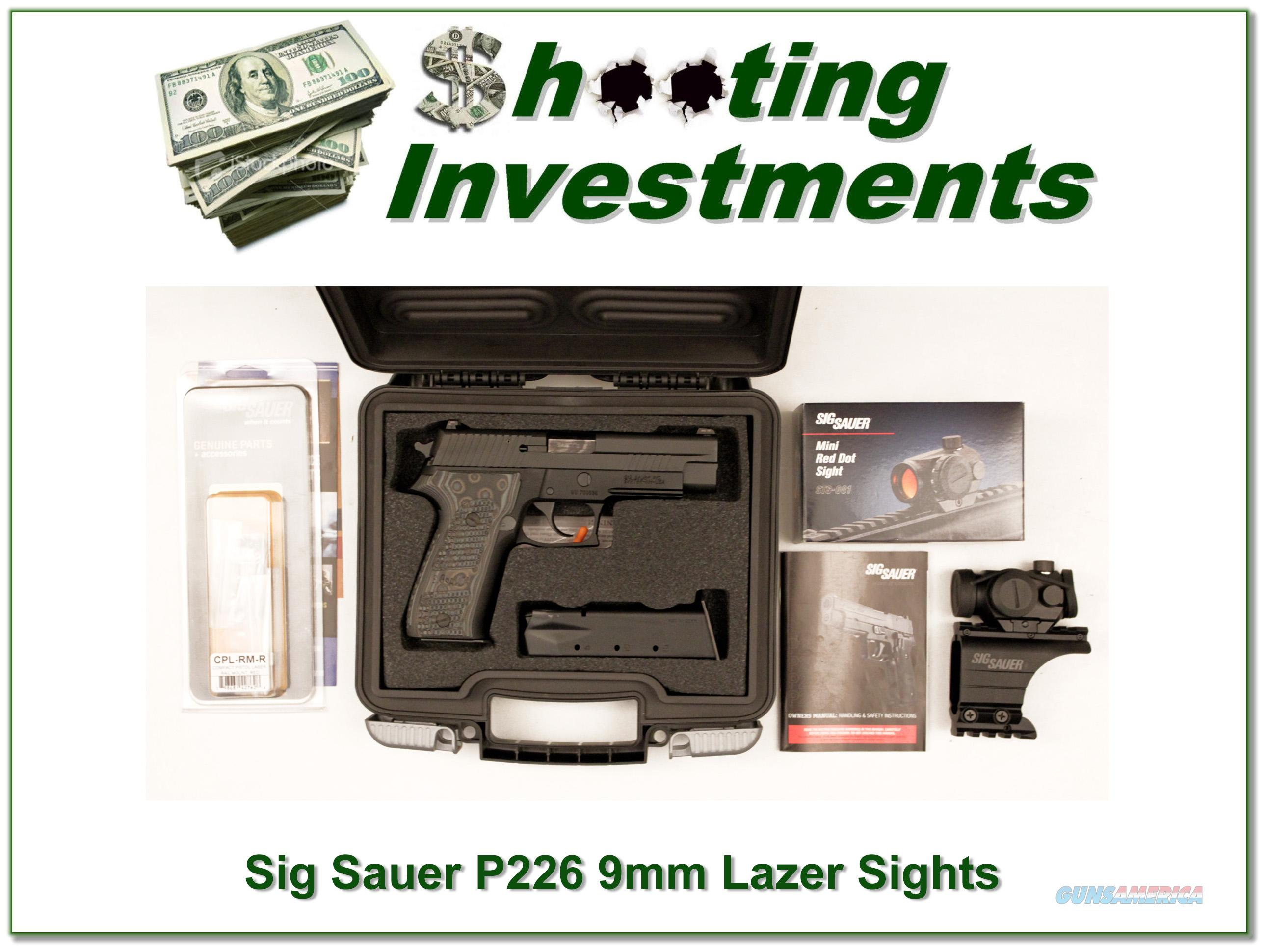 Sig Sauer P226 ANIC with factory laser sights!  Guns > Pistols > Sig - Sauer/Sigarms Pistols > P226