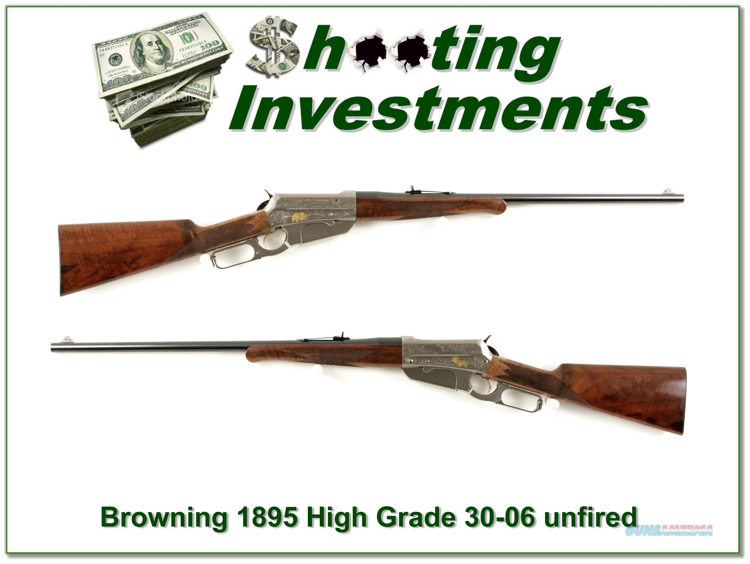 Browning 1895 High Grade 30-06 as new!  Guns > Rifles > Browning Rifles > Lever Action
