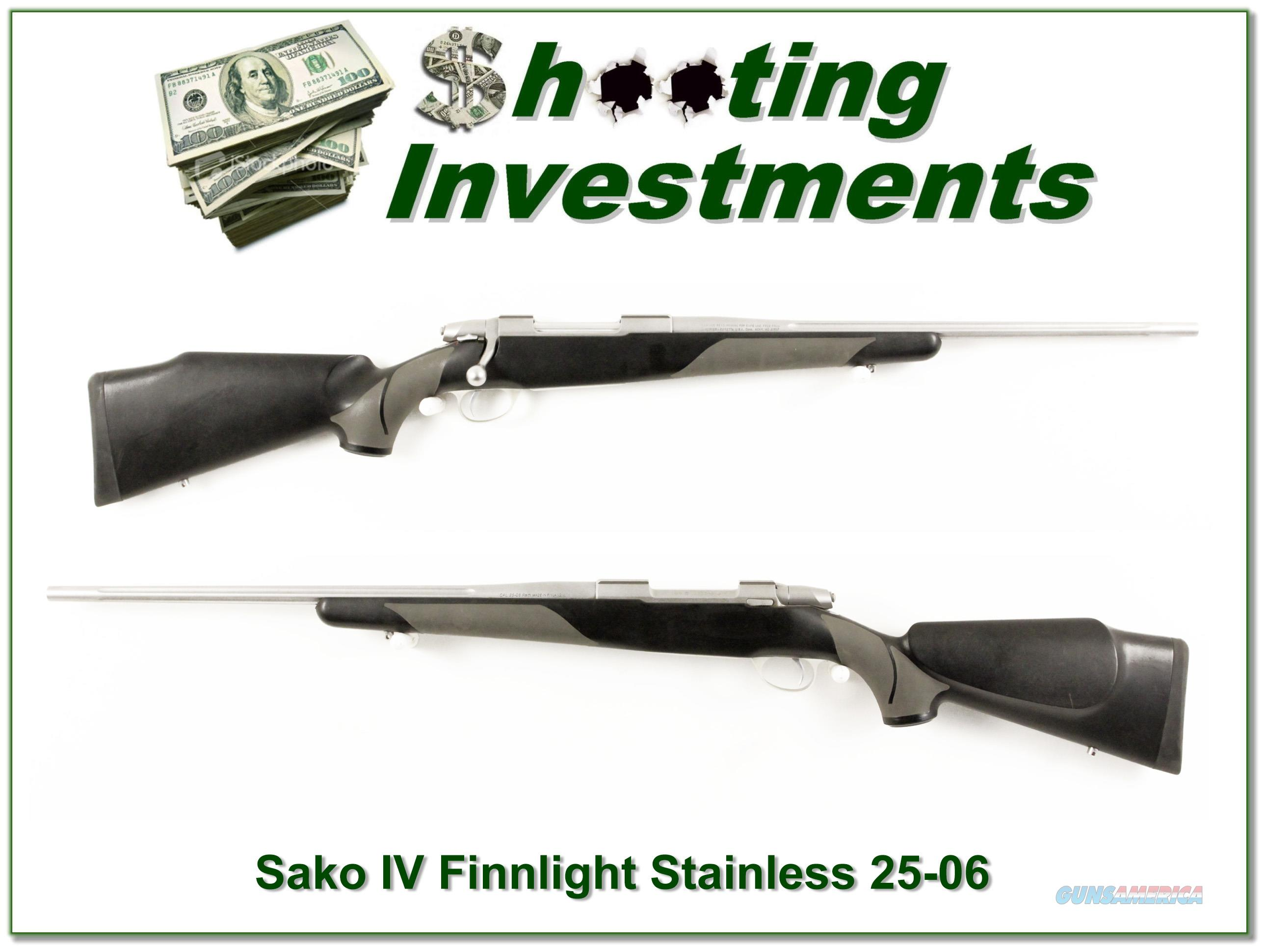 Sako 75 Finnlight Stainless Fluted hard to find 25-06  Guns > Rifles > Sako Rifles > M85 Series