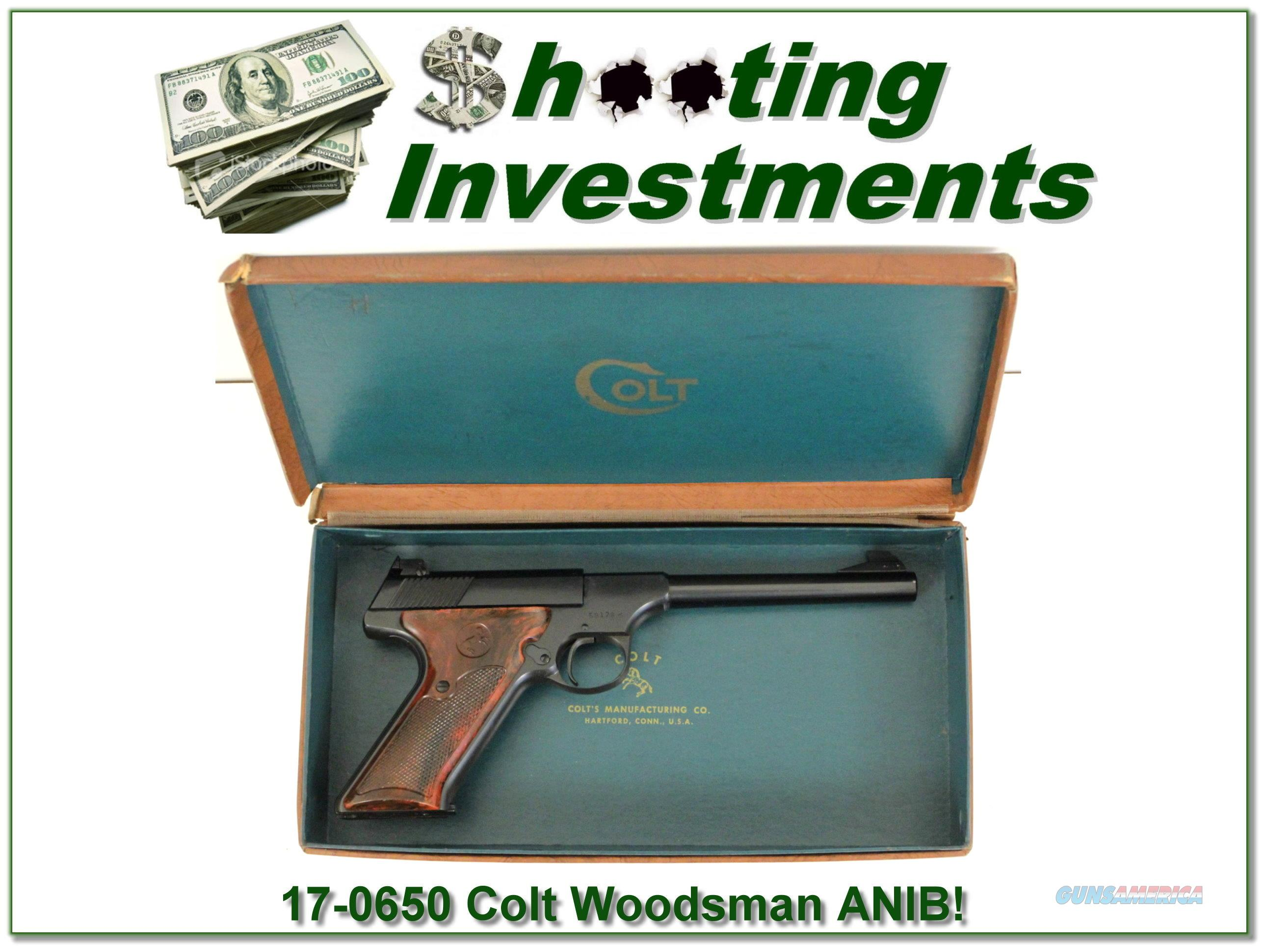 Colt Woodsman 1949 Collector Condition in box!  Guns > Pistols > Colt Automatic Pistols (22 Cal.)