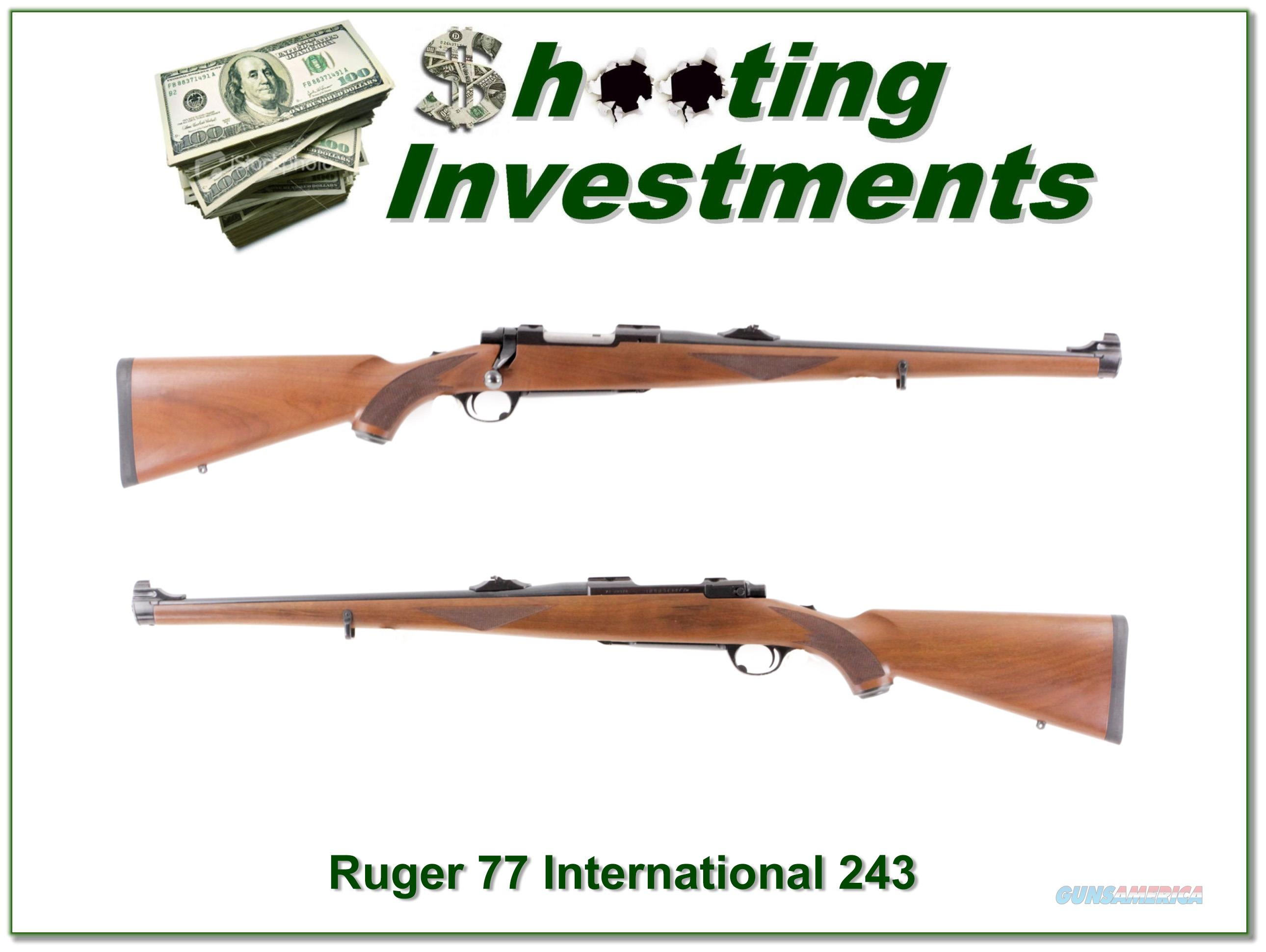 Ruger 77 International in 243 Winchester  Guns > Rifles > Ruger Rifles > Model 77