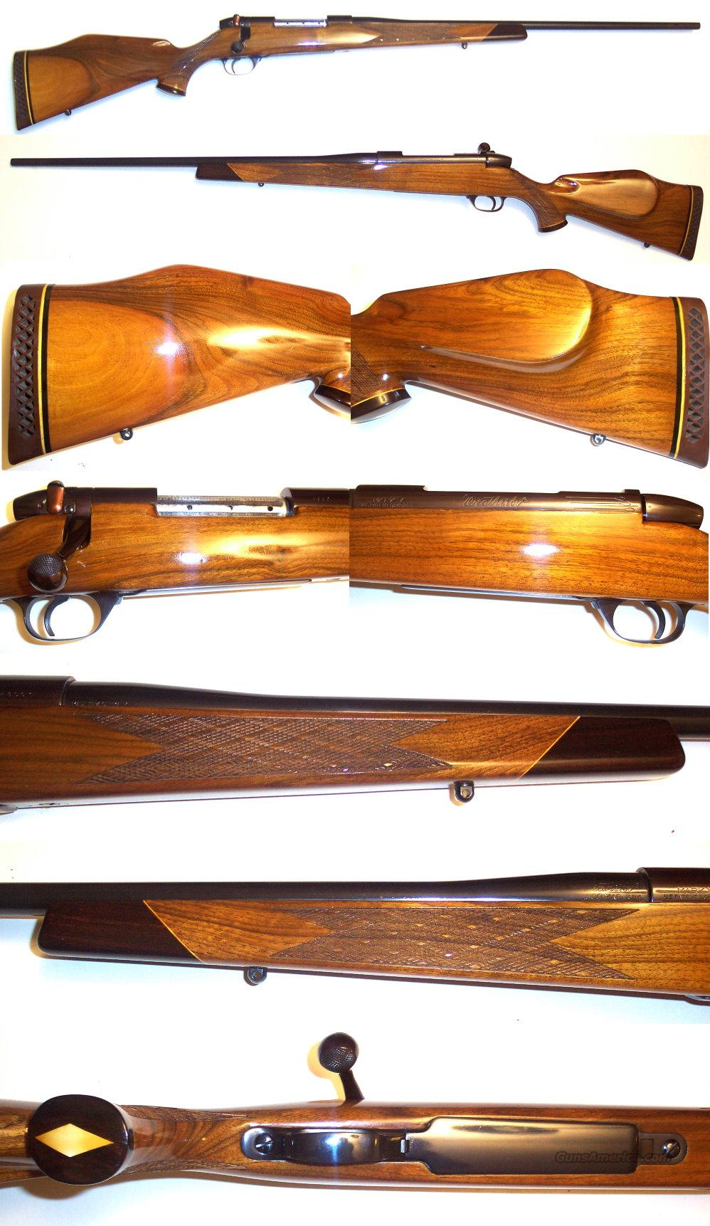 Early Weatherby German Mark V Deluxe 300  Guns > Rifles > Weatherby Rifles > Sporting