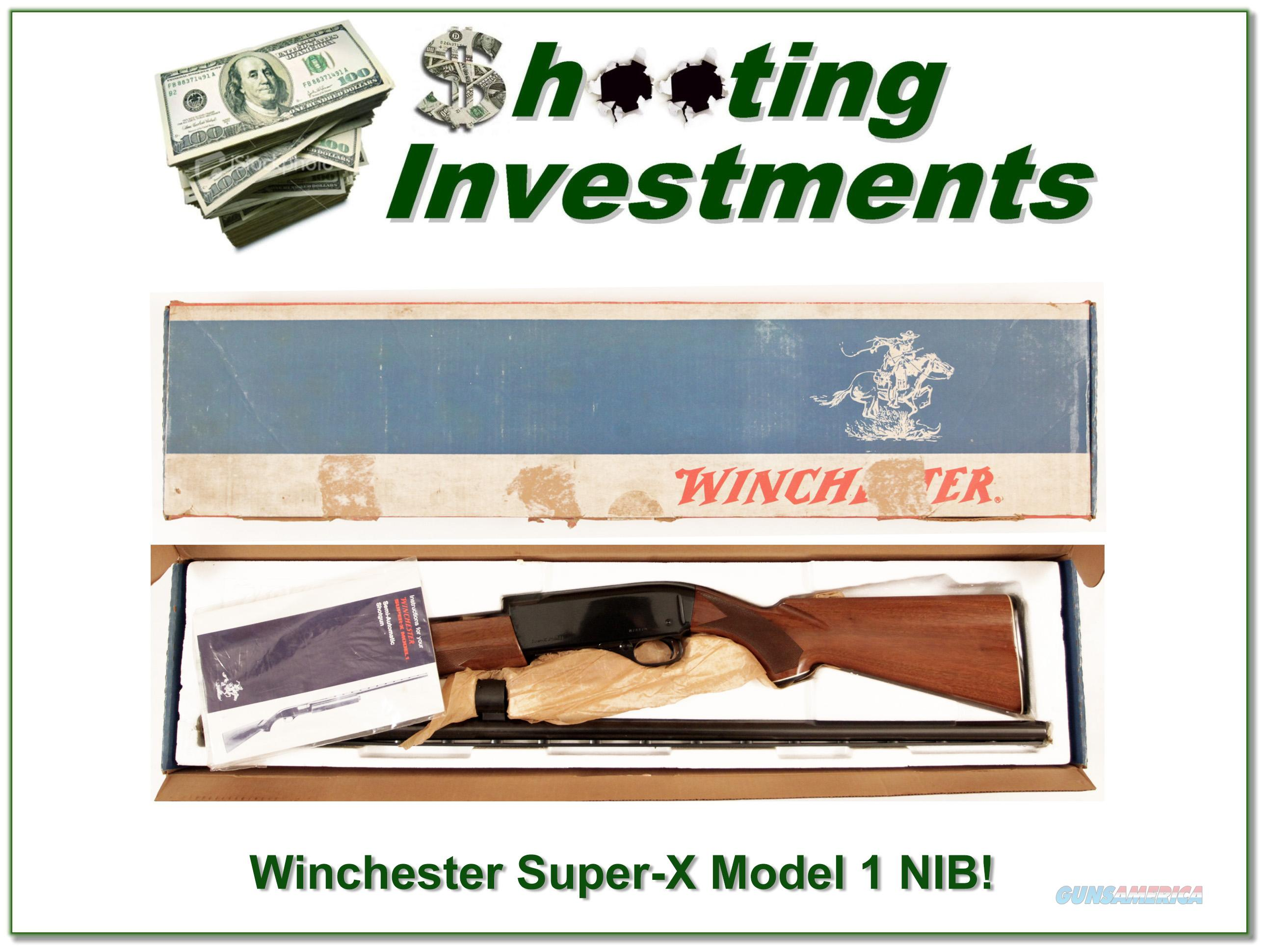 Winchester Super-X Super X Model 1 NEW IN BOX!  Guns > Shotguns > Winchester Shotguns - Modern > Autoloaders > Hunting