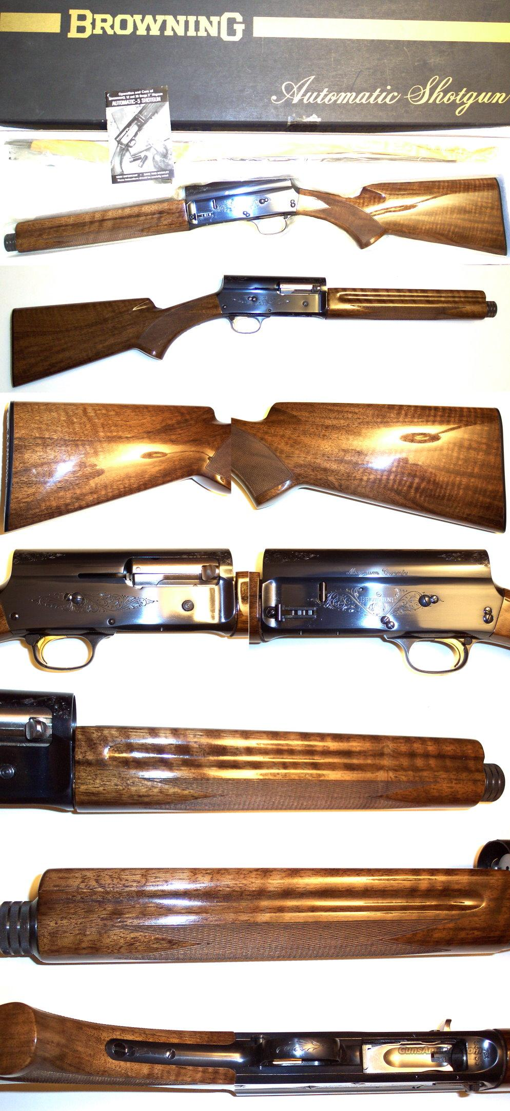 '76 Belgium Browning MAG 20 NIB and perfect!  Guns > Shotguns > Browning Shotguns > Autoloaders > Hunting