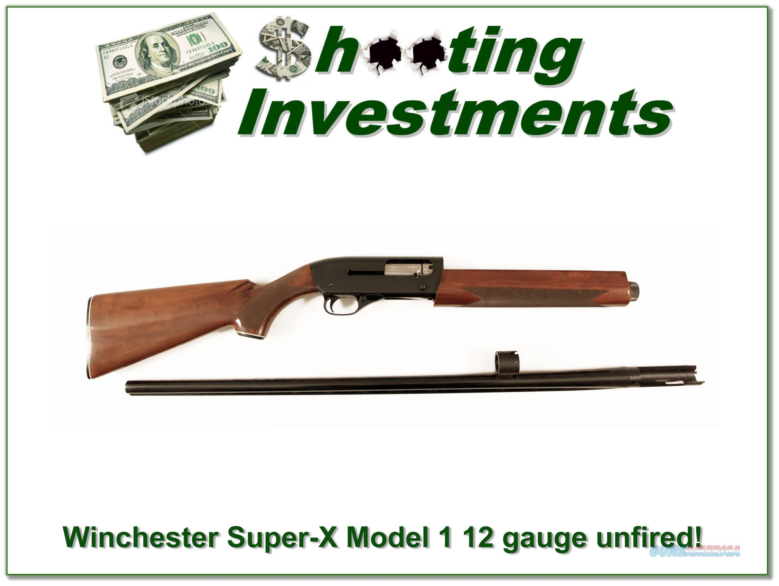 Winchester Super-X Super X Model 1 looks unfired!  Guns > Shotguns > Winchester Shotguns - Modern > Autoloaders > Hunting
