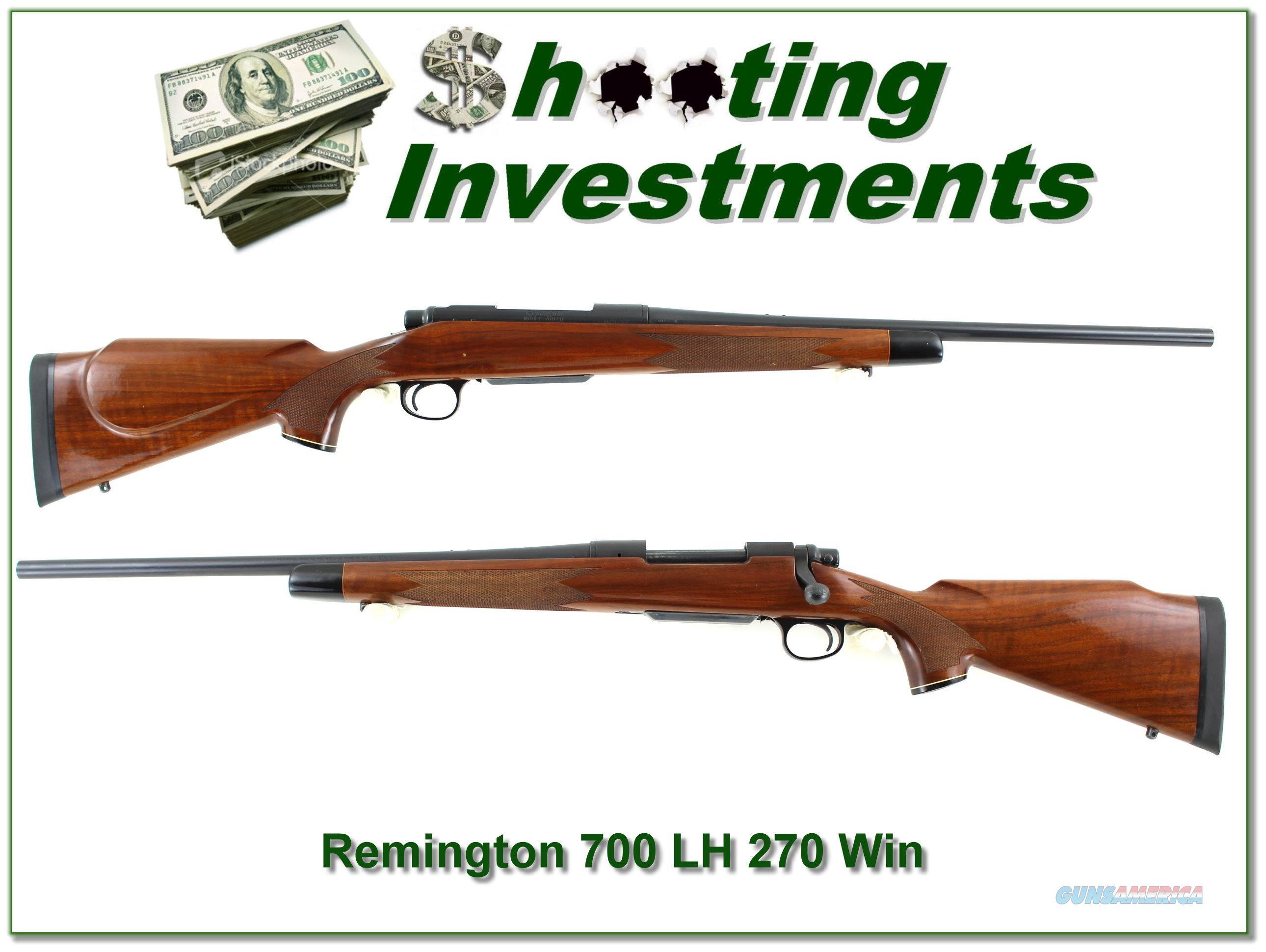 Remington 700 BDL LH 270 Win Custom  Guns > Rifles > Remington Rifles - Modern > Model 700 > Sporting
