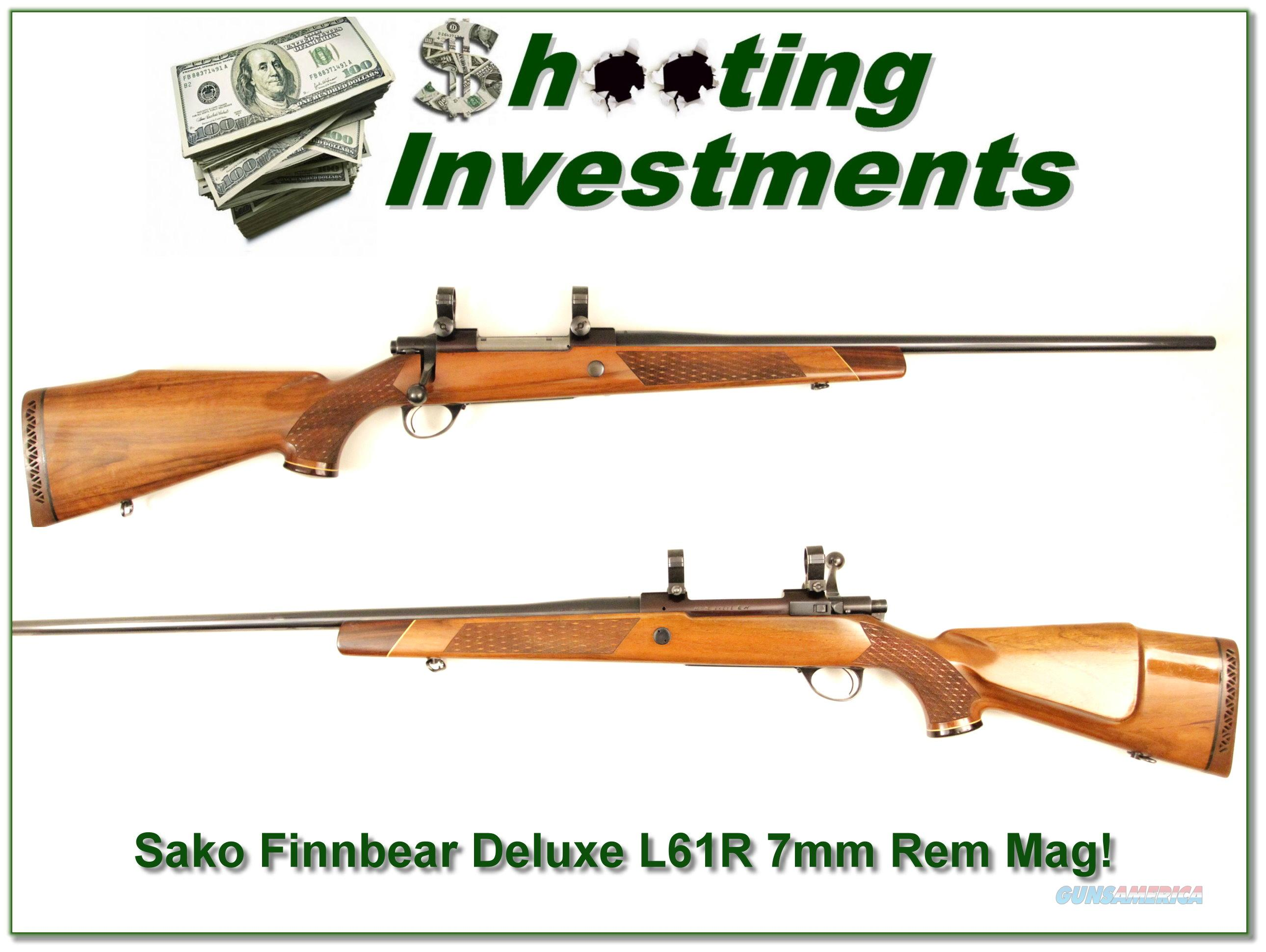 Sako Finnbear Deluxe 7mm Rem Mag!  Guns > Rifles > Sako Rifles > Other Bolt Action