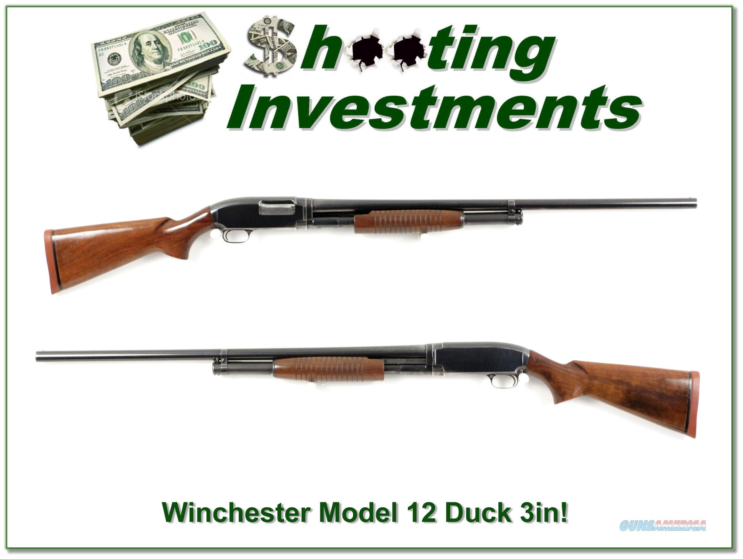 Winchester Model 12 3in Duck made in 1957  Guns > Shotguns > Winchester Shotguns - Modern > Pump Action > Hunting