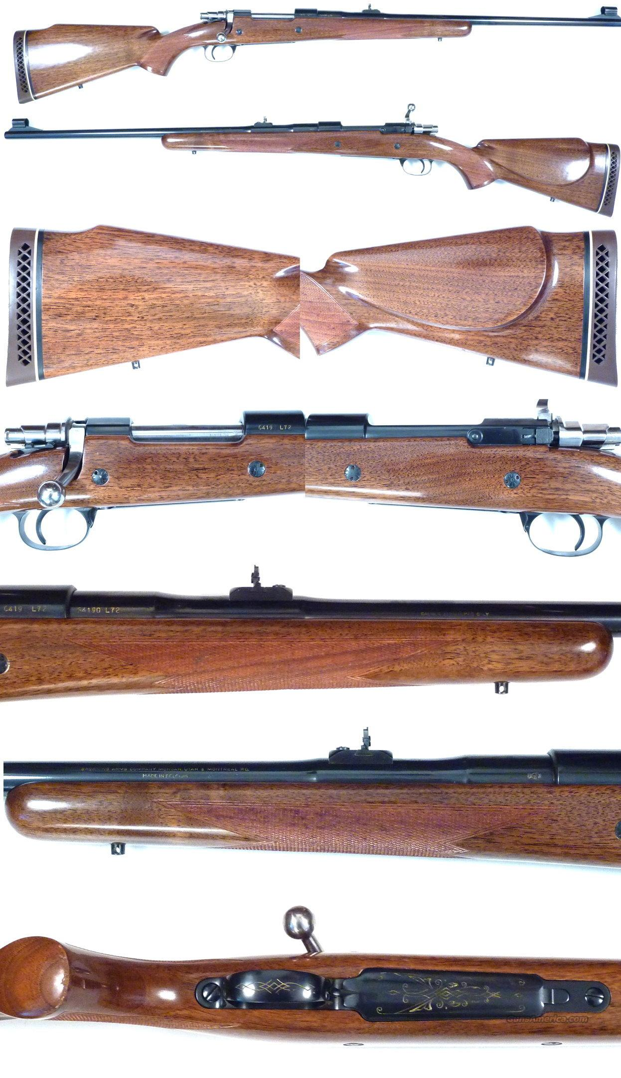 '72 Belgium Browning 338 Safari Grade  Guns > Rifles > Browning Rifles > Bolt Action > Hunting > Blue