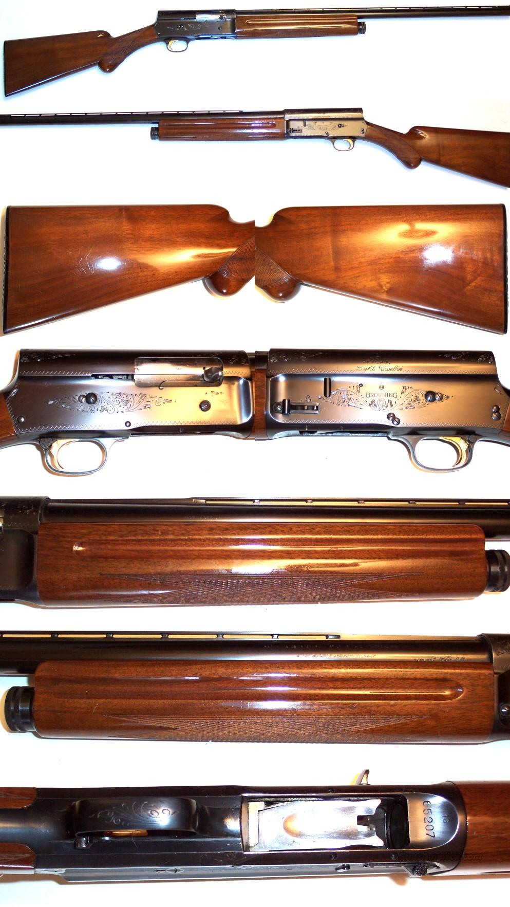 '61 Belgium Browning A5 Light 12  Guns > Shotguns > Browning Shotguns > Autoloaders > Hunting