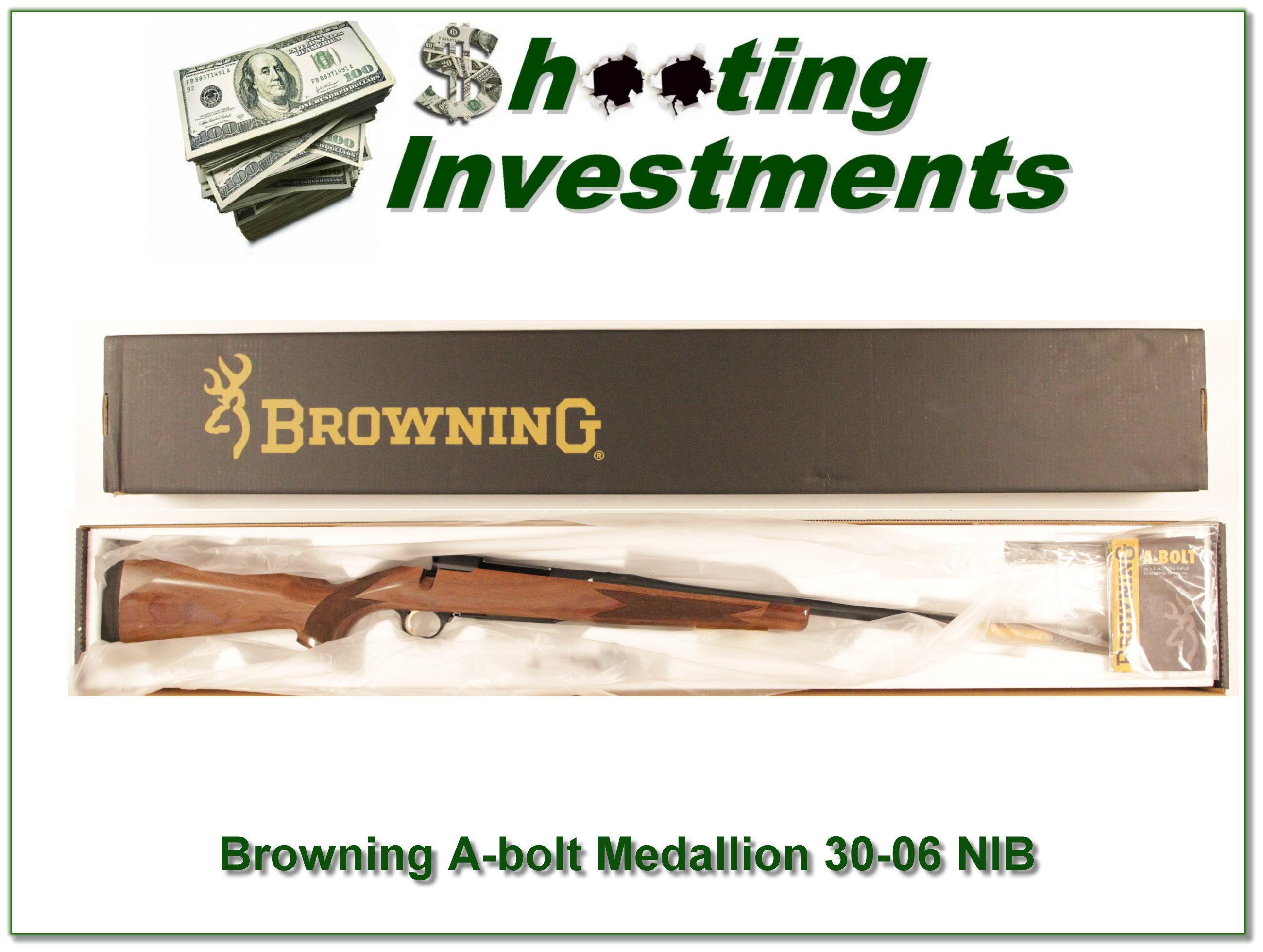 Browning A-bolt II Medallion 30-06 last of the new ones!  Guns > Rifles > Browning Rifles > Bolt Action > Hunting > Blue