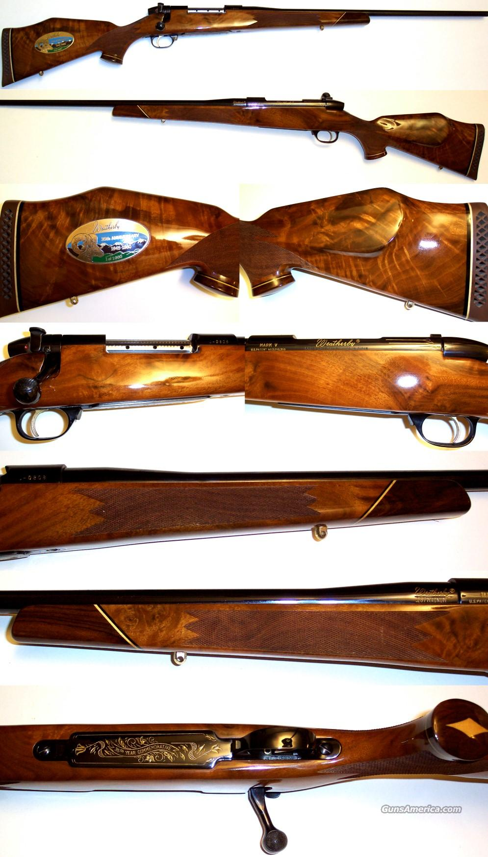 Weatherby Mark V 257 35th Anniversary, new and unfired  Guns > Rifles > Weatherby Rifles > Sporting