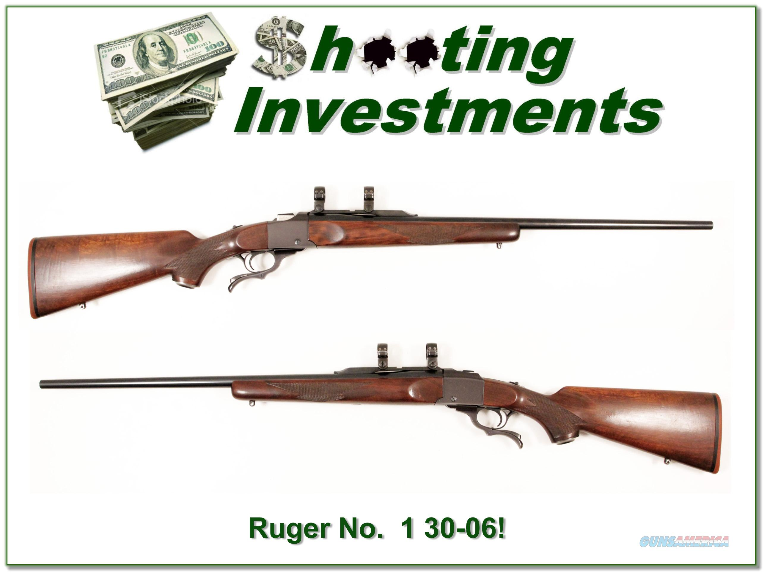 Ruger No. 1 30-06 Springfield Red Pad  Guns > Rifles > Ruger Rifles > #1 Type