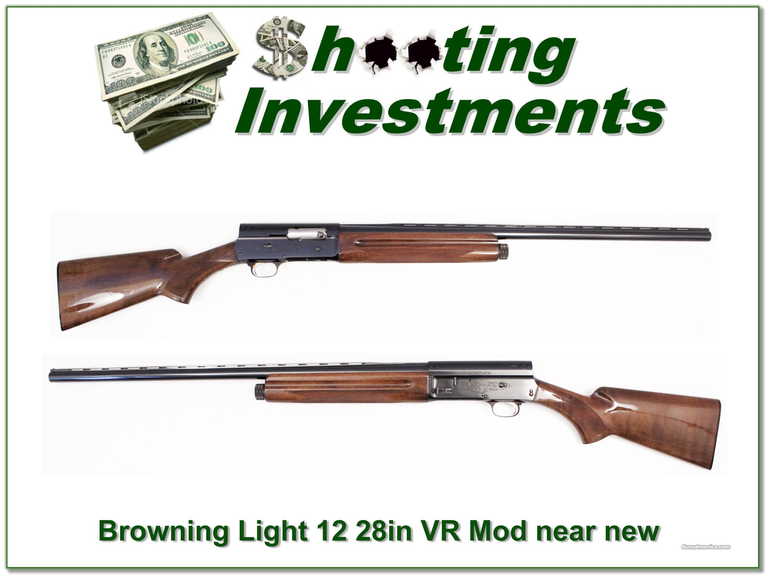 Browning A5 Light 12 28in VR near new  Guns > Shotguns > Browning Shotguns > Autoloaders > Hunting