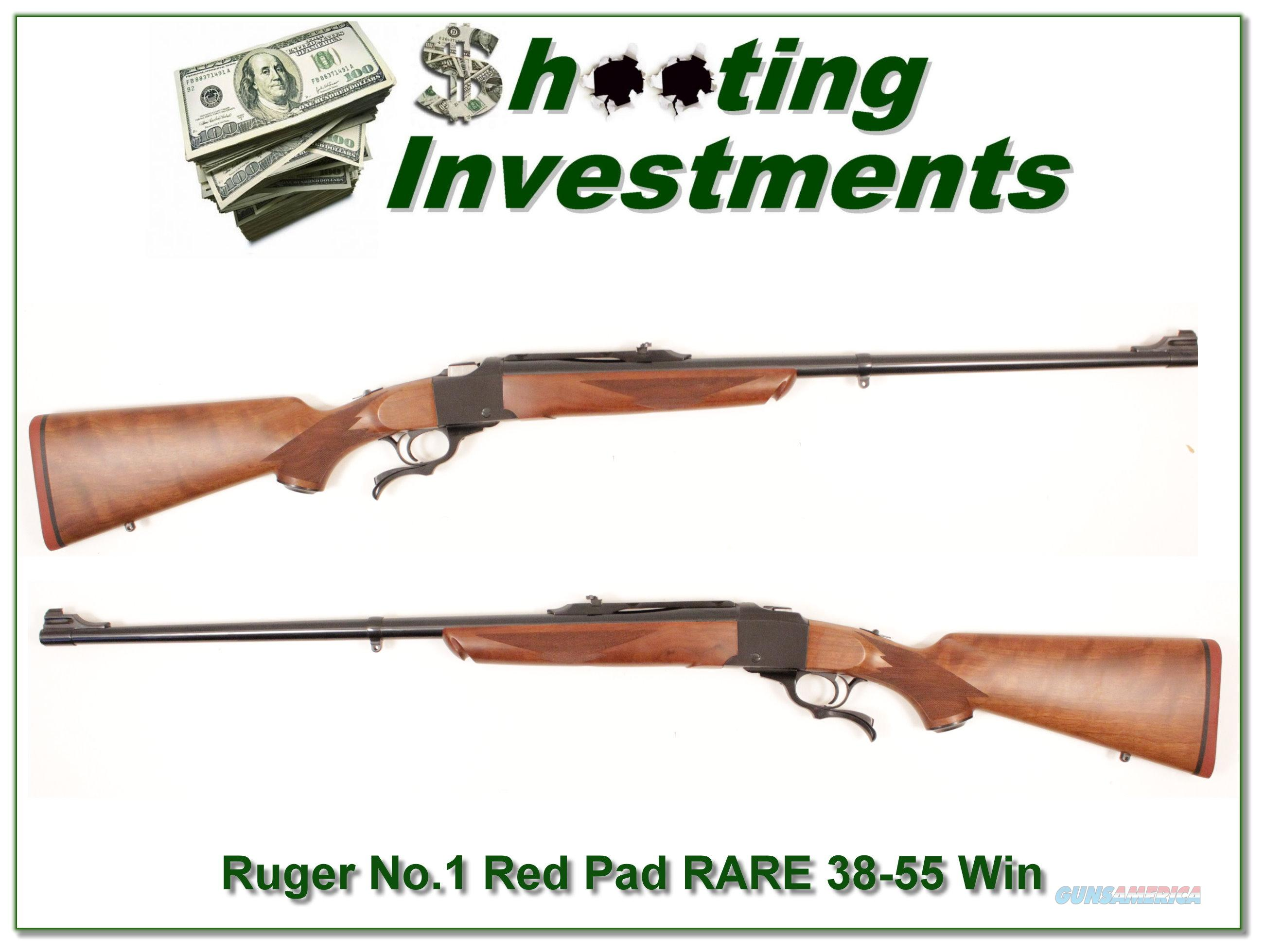 Ruger No. 1 RARE .38-55 38-55 Winchester MINT!  Guns > Rifles > Ruger Rifles > #1 Type