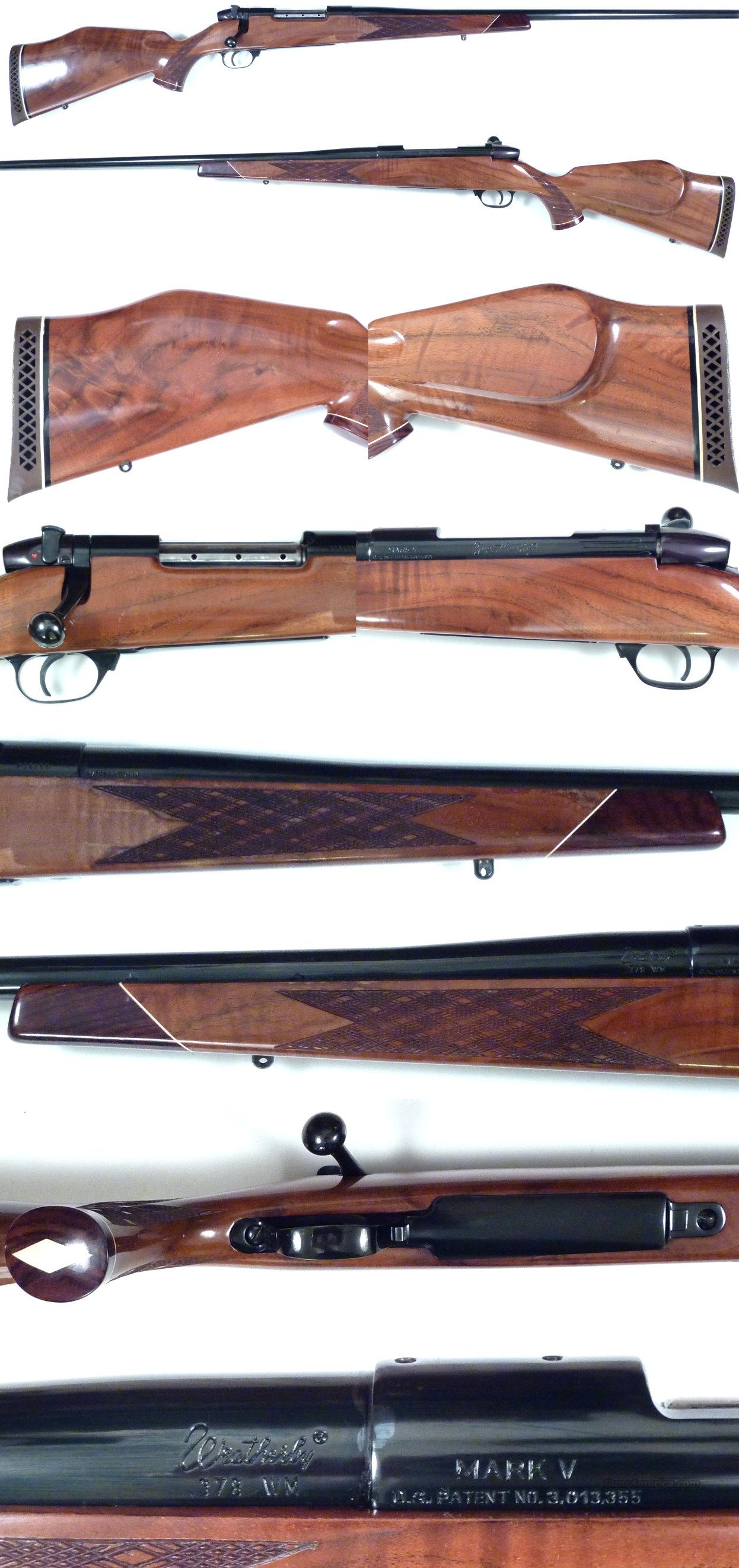 Weatherby Mark V German made 378  Guns > Rifles > Weatherby Rifles > Sporting