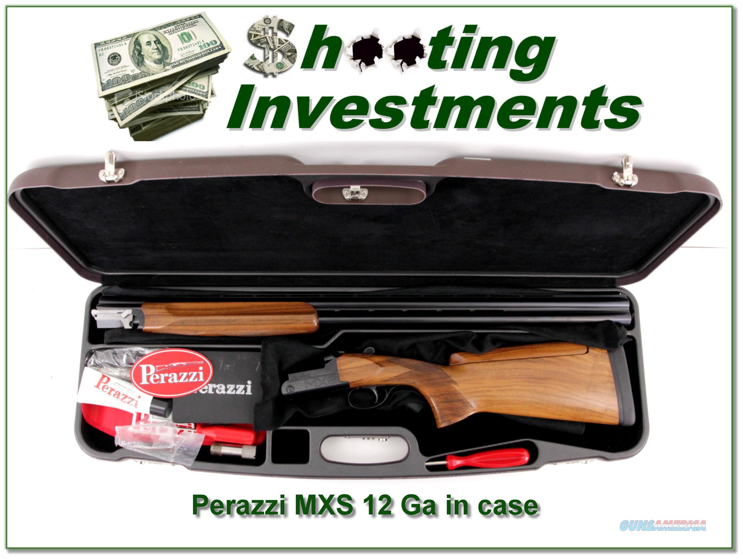 Perazzi MXS 12 Gauge Exc Cond in case  Guns > Shotguns > Perazzi Shotguns