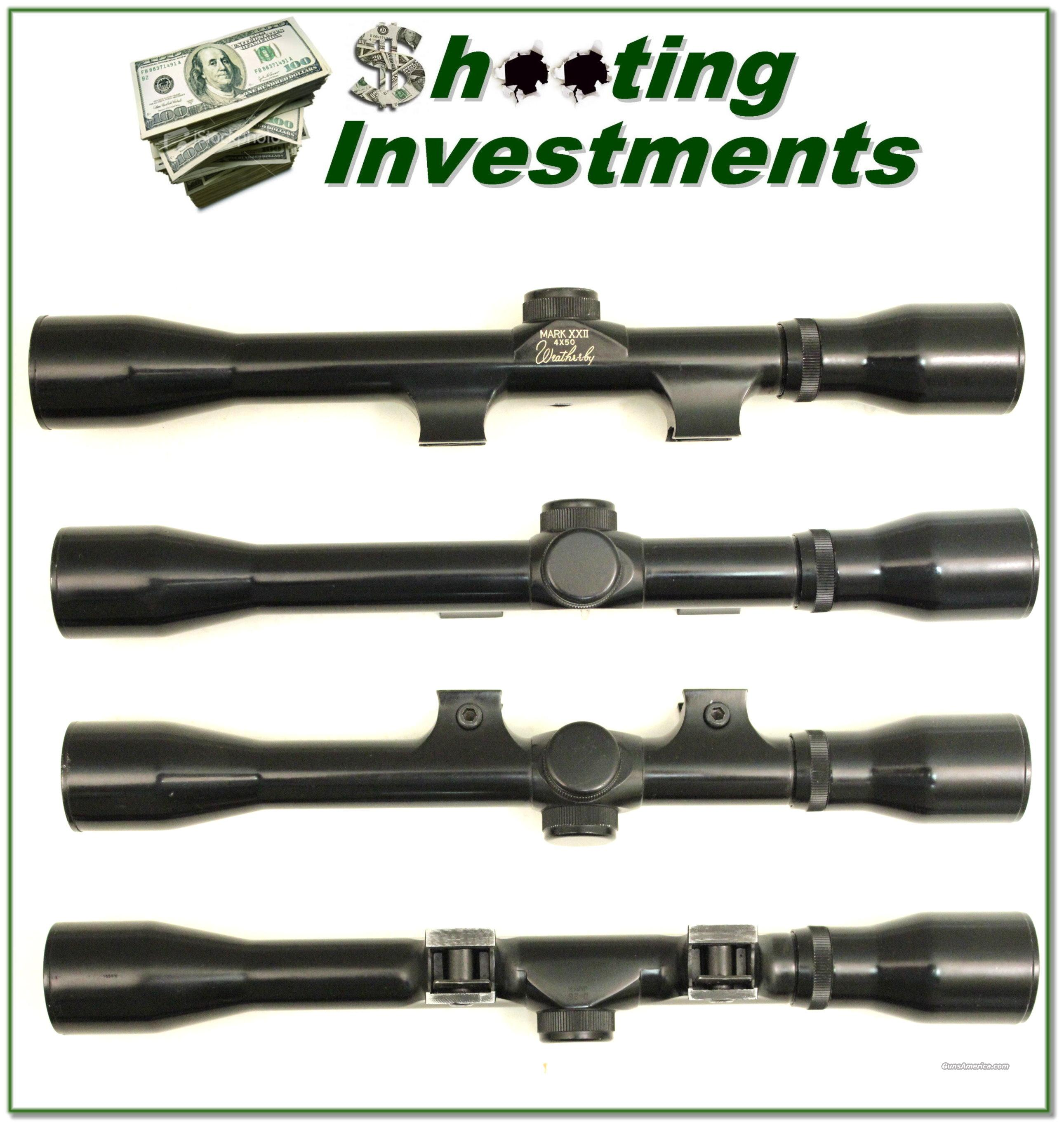 Weatherby XXII 22 Rimfire rifle scope Exc Cond!  Non-Guns > Scopes/Mounts/Rings & Optics > Rifle Scopes > Fixed Focal Length