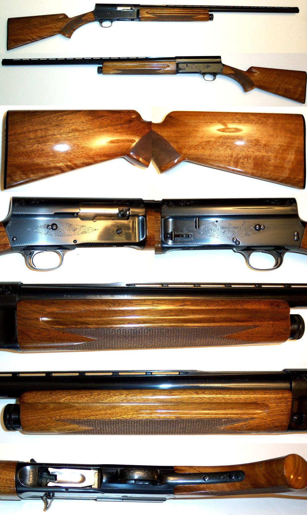 '67 Belgium Browning A5 12 Gauge  Guns > Shotguns > Browning Shotguns > Autoloaders > Hunting