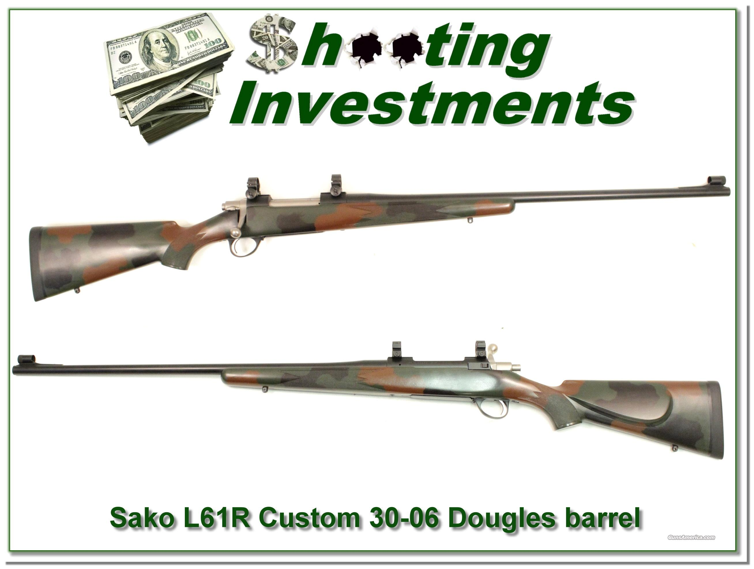 Sako L61R Custom Douglas 30-06 barrel Exc Cond!  Guns > Rifles > Sako Rifles > Other Bolt Action