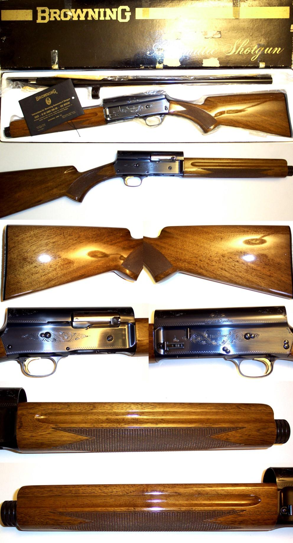 '72 Belgium A5 like new in box with papers  Guns > Shotguns > Browning Shotguns > Autoloaders > Hunting