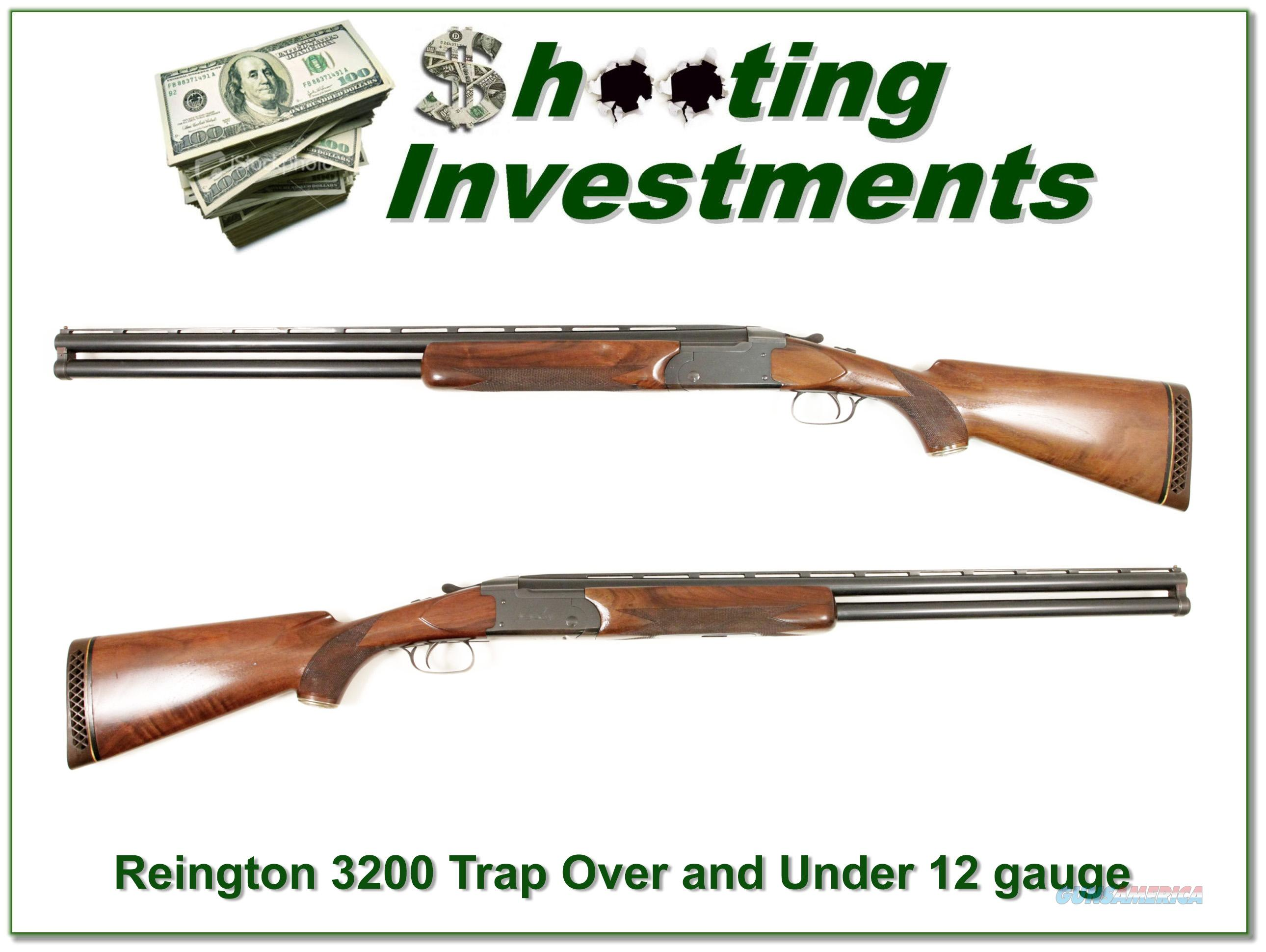 Remington 3200 Trap Over and under  Guns > Shotguns > Remington Shotguns  > O/U