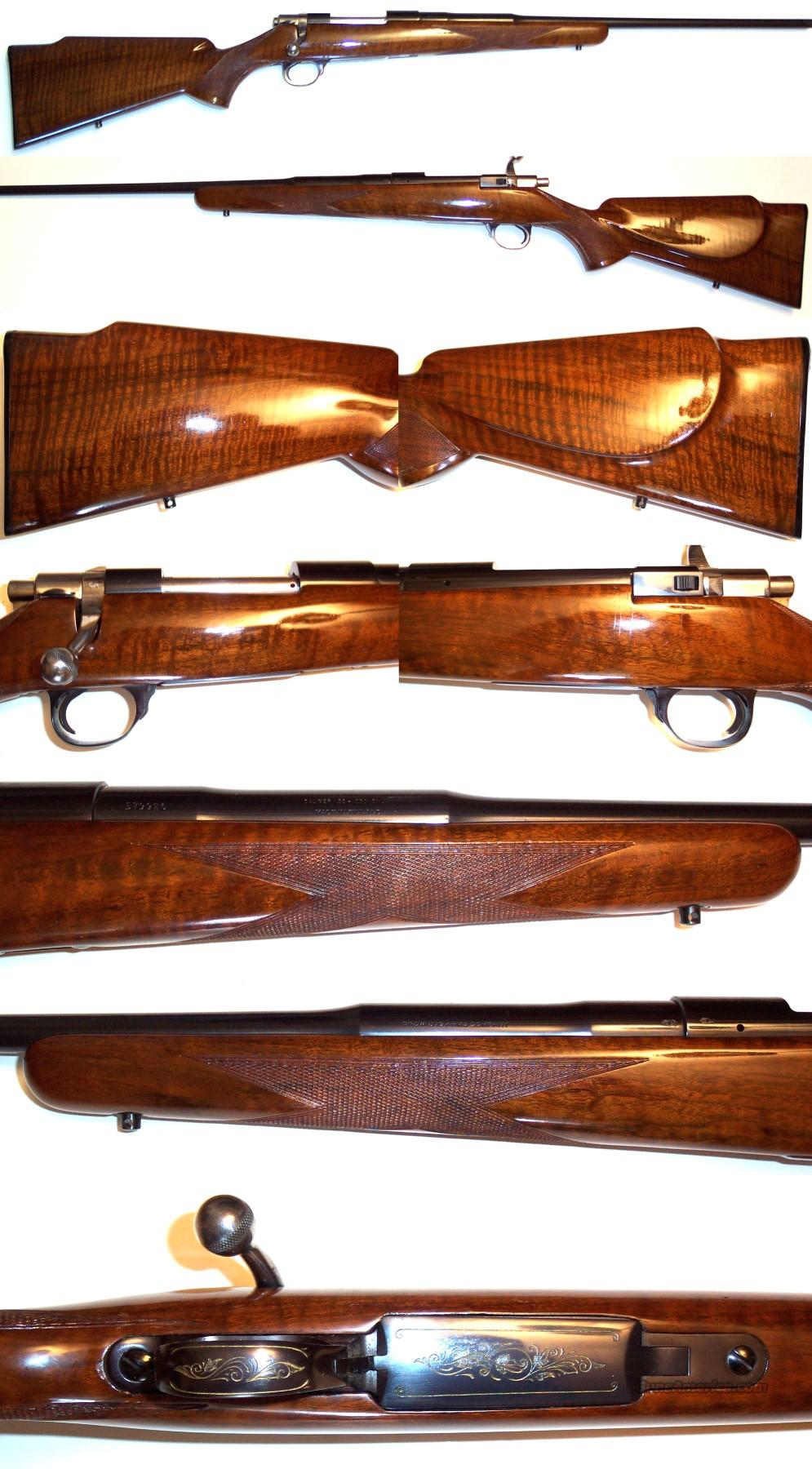 '66 Belgium Browning 22-250 Safari Grade  Guns > Rifles > Browning Rifles > Bolt Action > Hunting > Blue