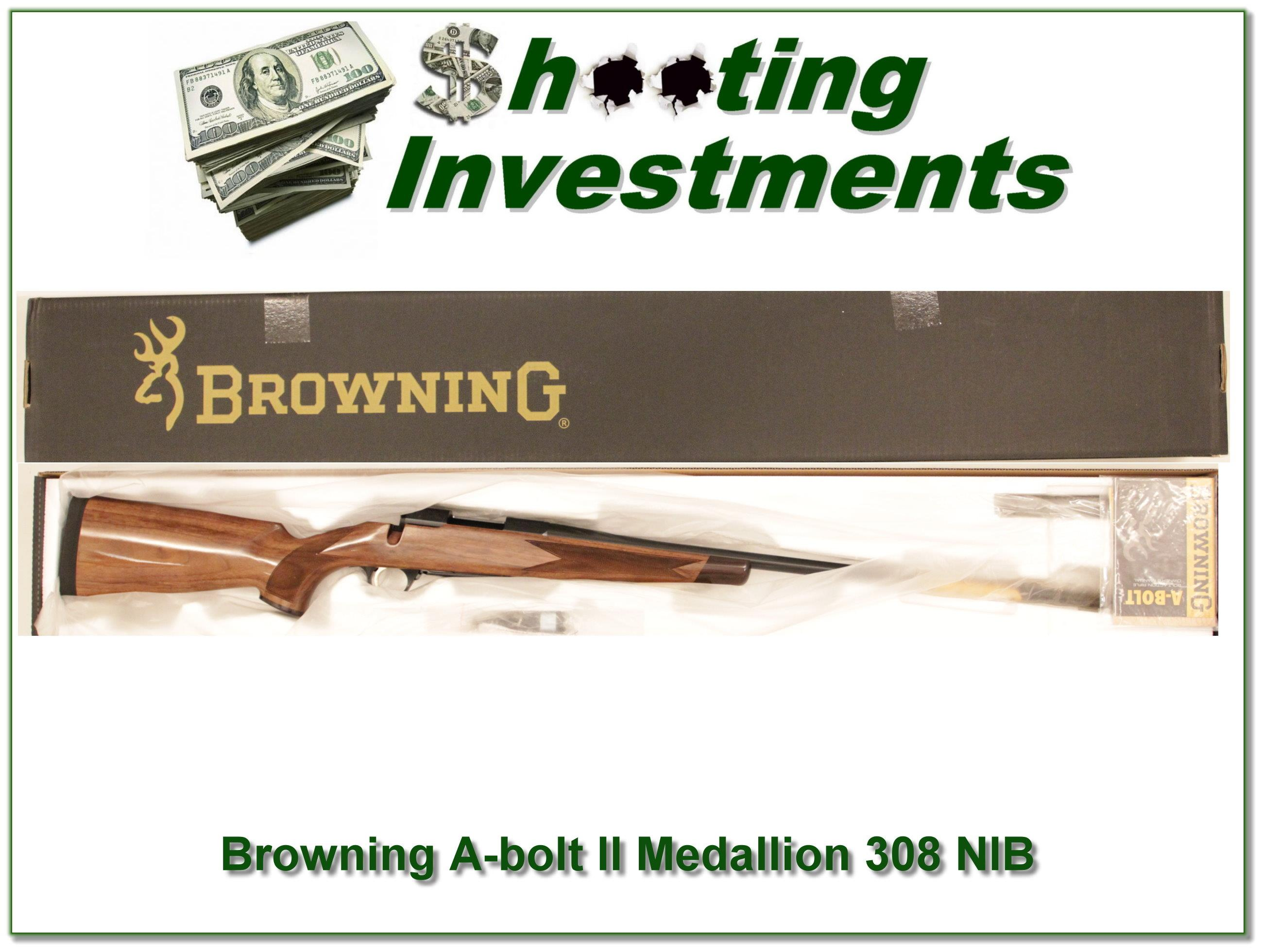 Browning A-bolt II Medallion 308 last of the new ones!  Guns > Rifles > Browning Rifles > Bolt Action > Hunting > Blue