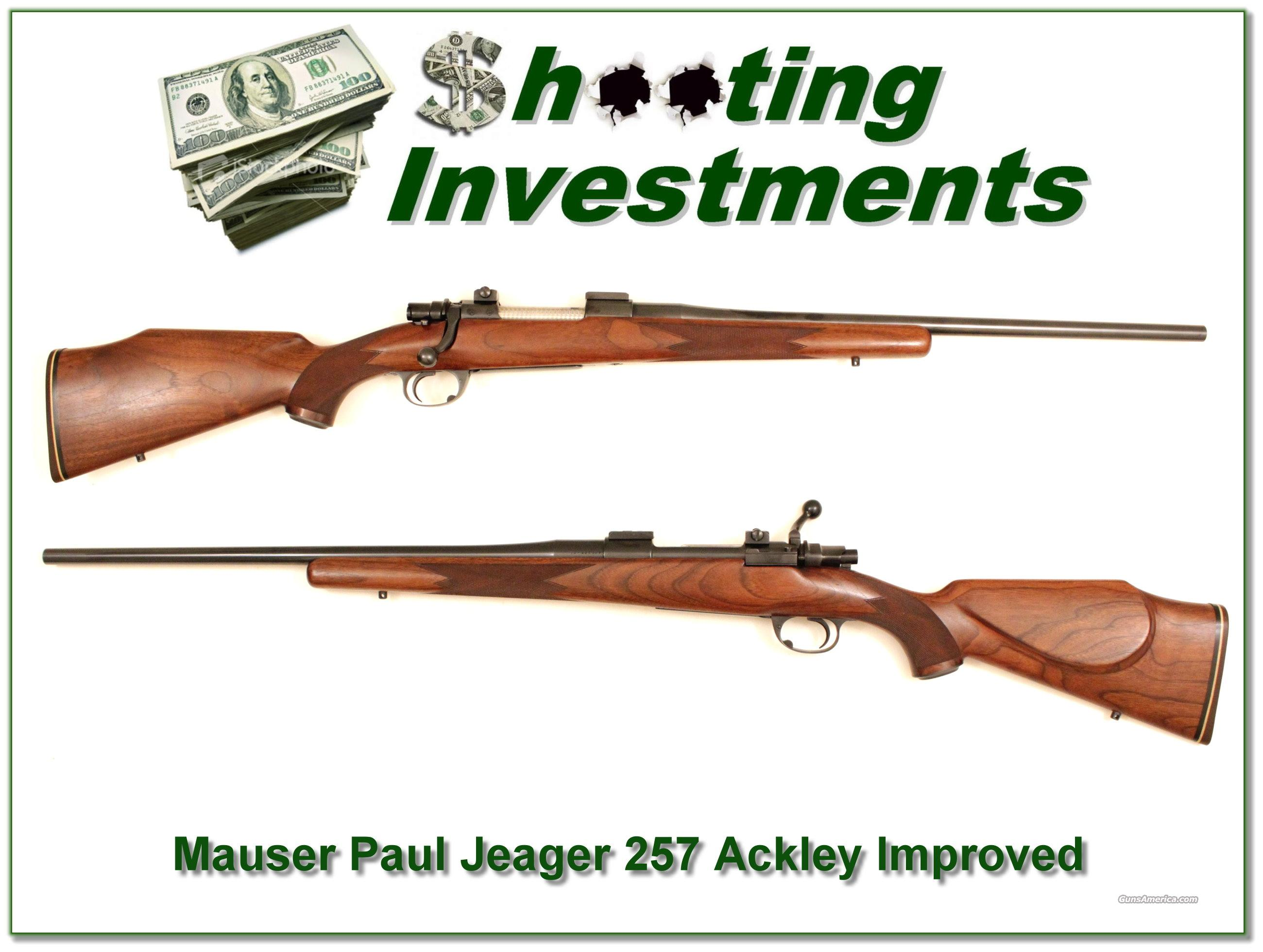 Paul Jaeger Custom .257 Ackley Improved  Guns > Rifles > FNH - Fabrique Nationale (FN) Rifles > Bolt action > Hunting