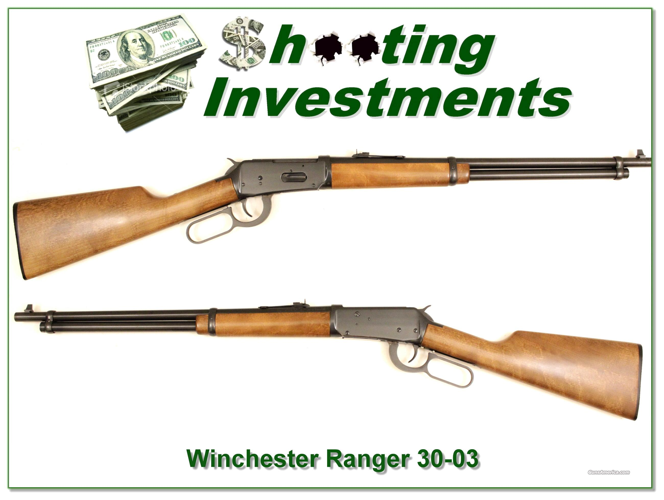 Winchester Ranger 30-30 Exc Cond  Guns > Rifles > Winchester Rifles - Modern Lever > Other Lever > Post-64