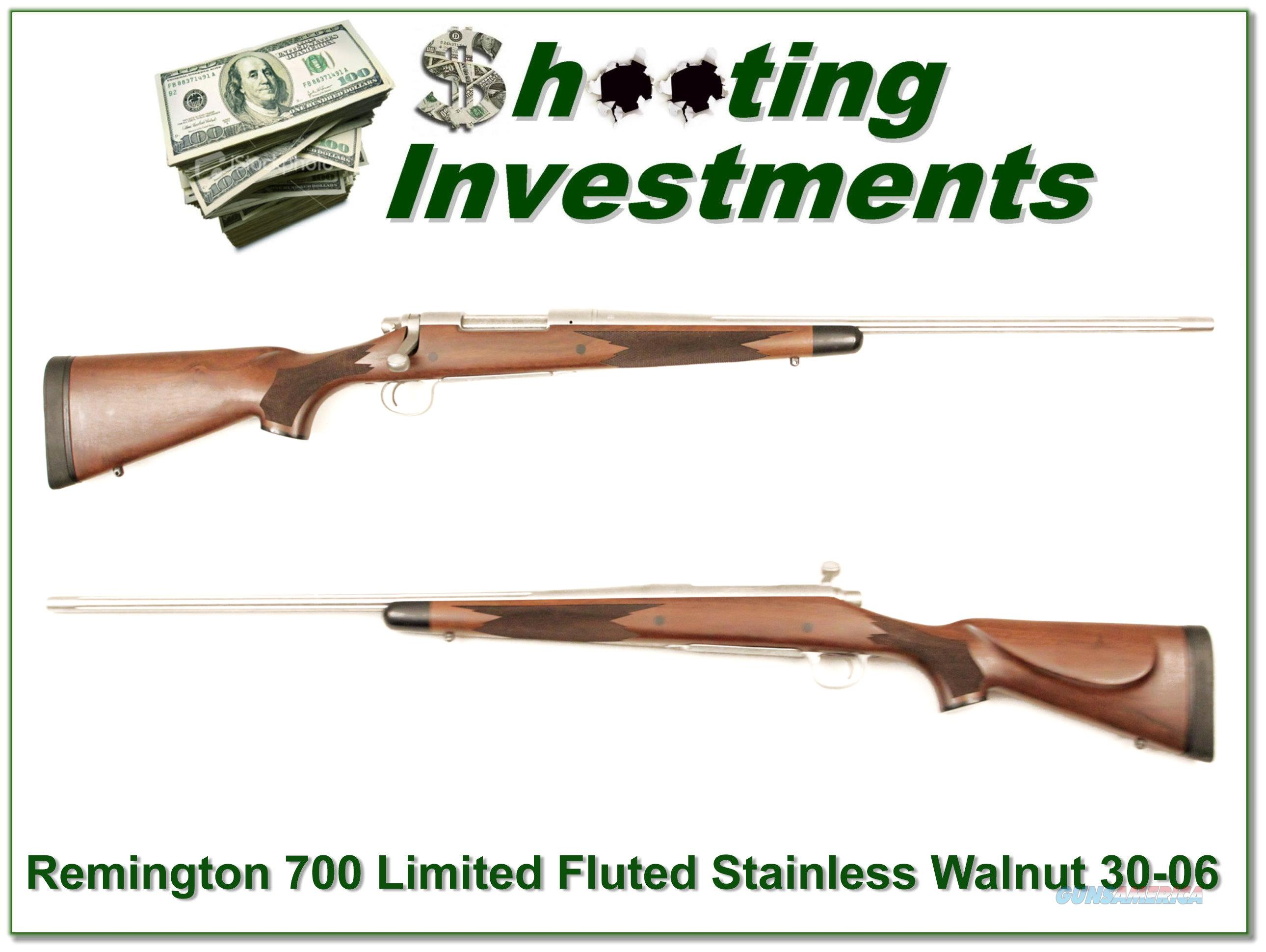 Remington 700 Limited Production 100 Years of 30-06!  Guns > Rifles > Remington Rifles - Modern > Model 700 > Sporting
