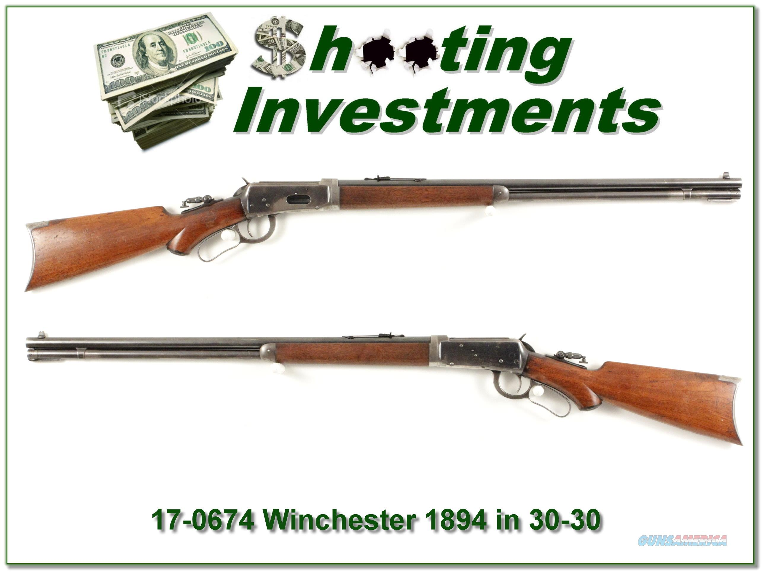 Winchester 1894 RARE 32WS Take down original!  Guns > Rifles > Winchester Rifles - Modern Lever > Other Lever > Pre-64
