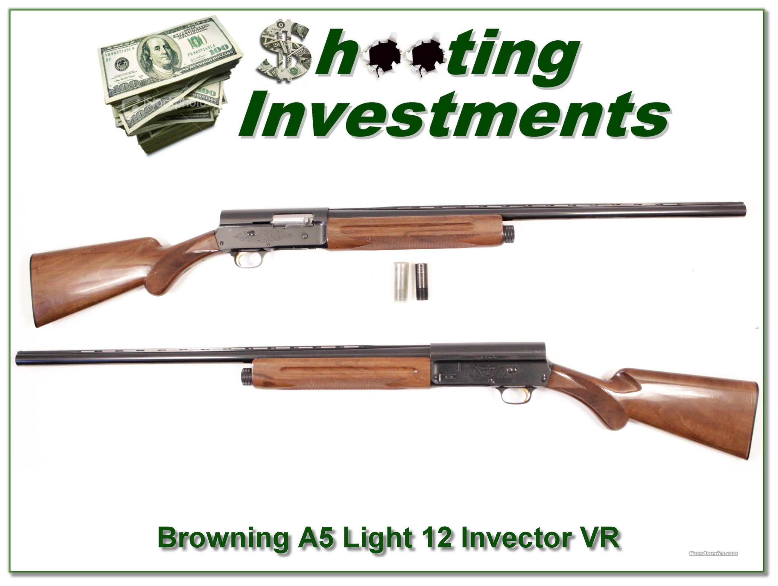 Browning A5 Light 12 28in Invector Plus!  Guns > Shotguns > Browning Shotguns > Autoloaders > Hunting
