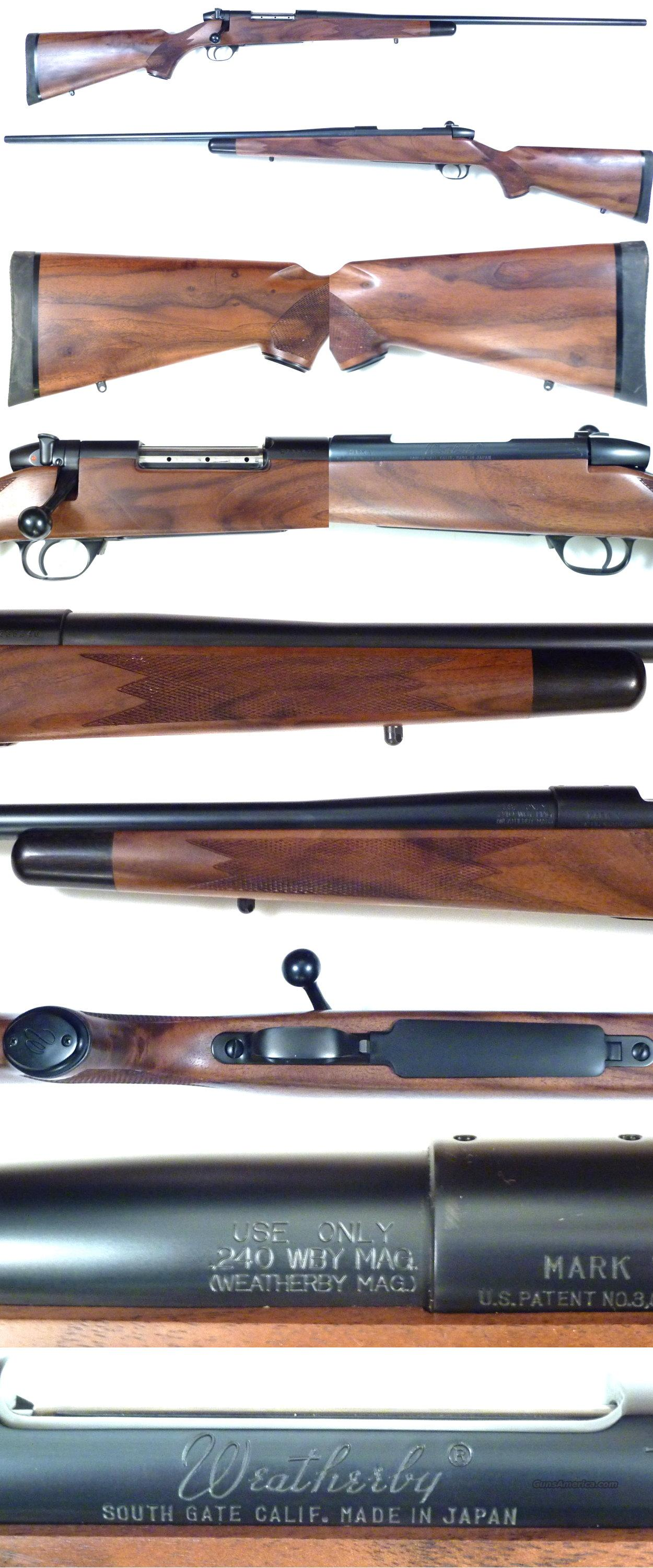 "Weatherby Mark V Classic Mark 240 Wthy Mag 26""  Guns > Rifles > Weatherby Rifles > Sporting"